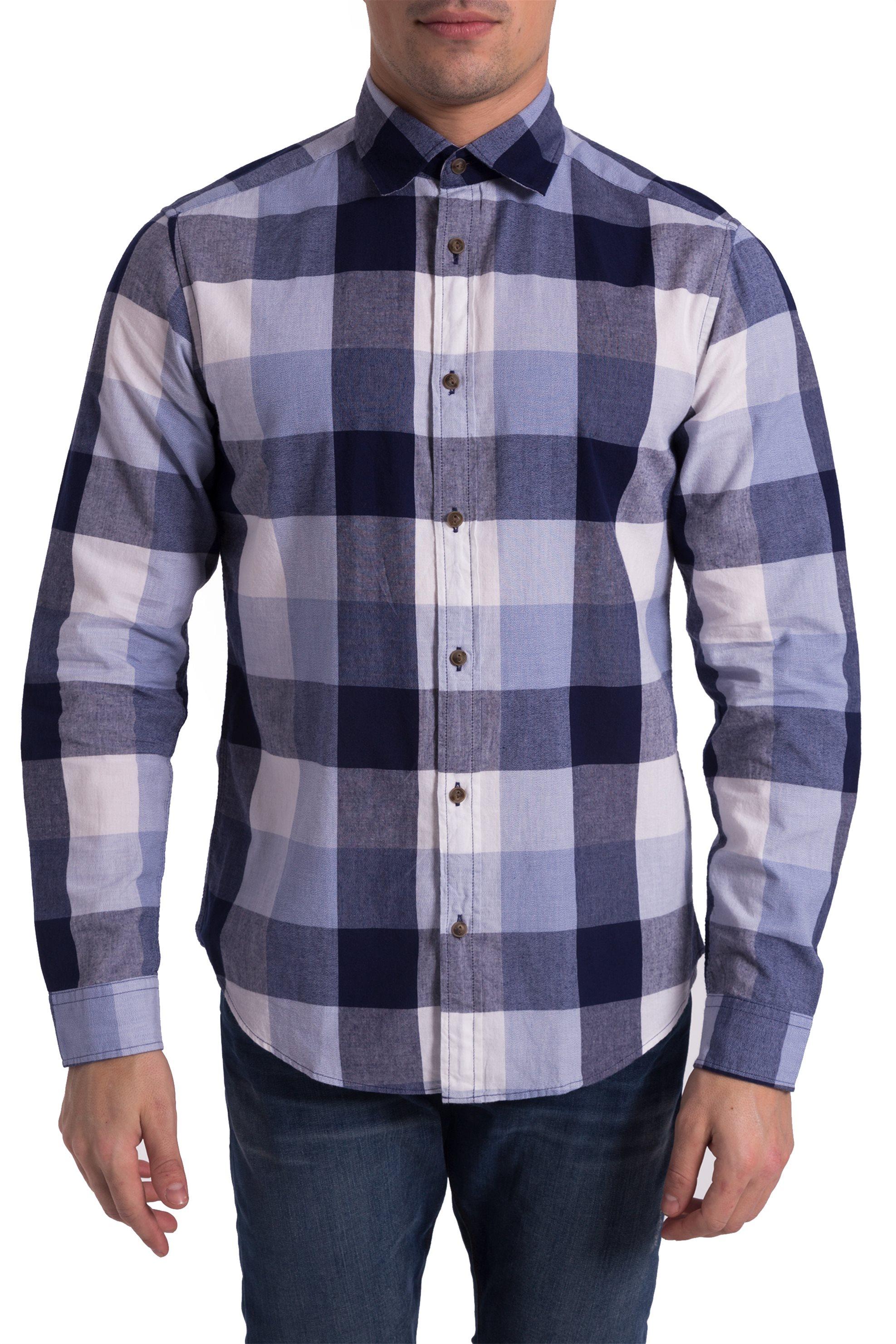 06564e312f4 Update / Βρεφικό καρό πουκάμισο Alouette - 00251180 - Γαλάζιο ...