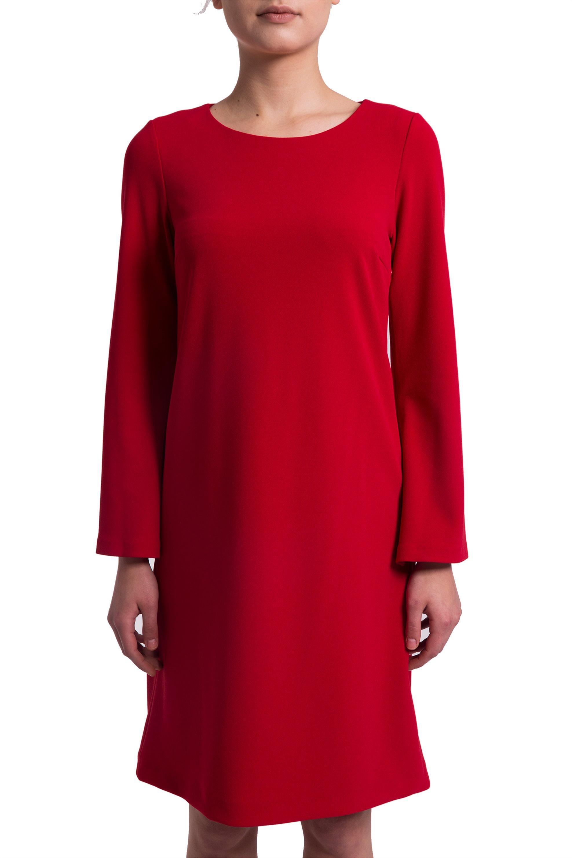 Γυναικείο φόρεμα με μανίκι καμπάνα Esprit - 028EO1E009 - Κόκκινο γυναικα   ρουχα   φορέματα   mini φορέματα