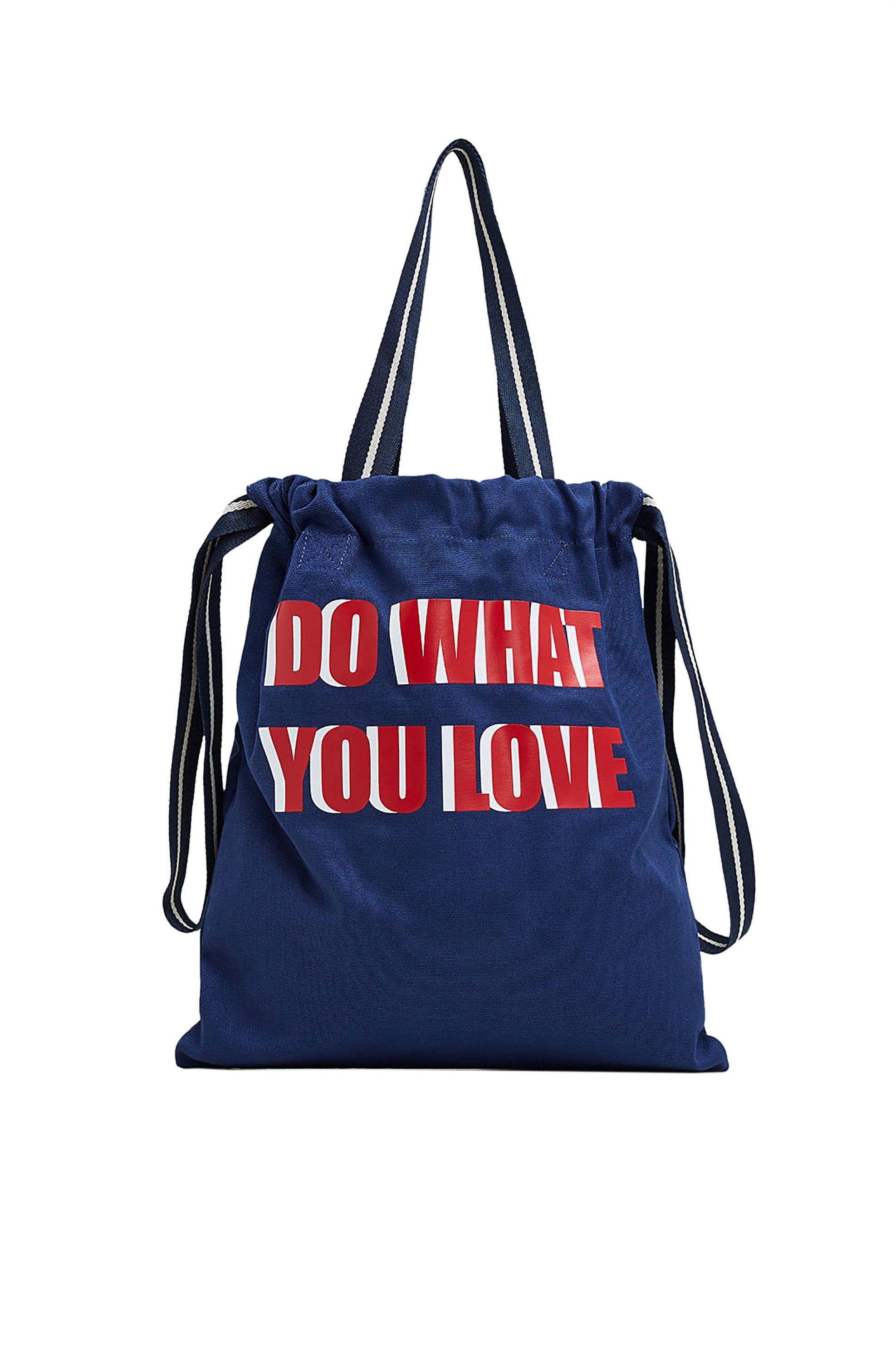 Esprit γυναικεία shopper τσάντα Canvas - 029EA1O035 - Μπλε Σκούρο γυναικα   τσαντεσ   ώμου   shopper bags