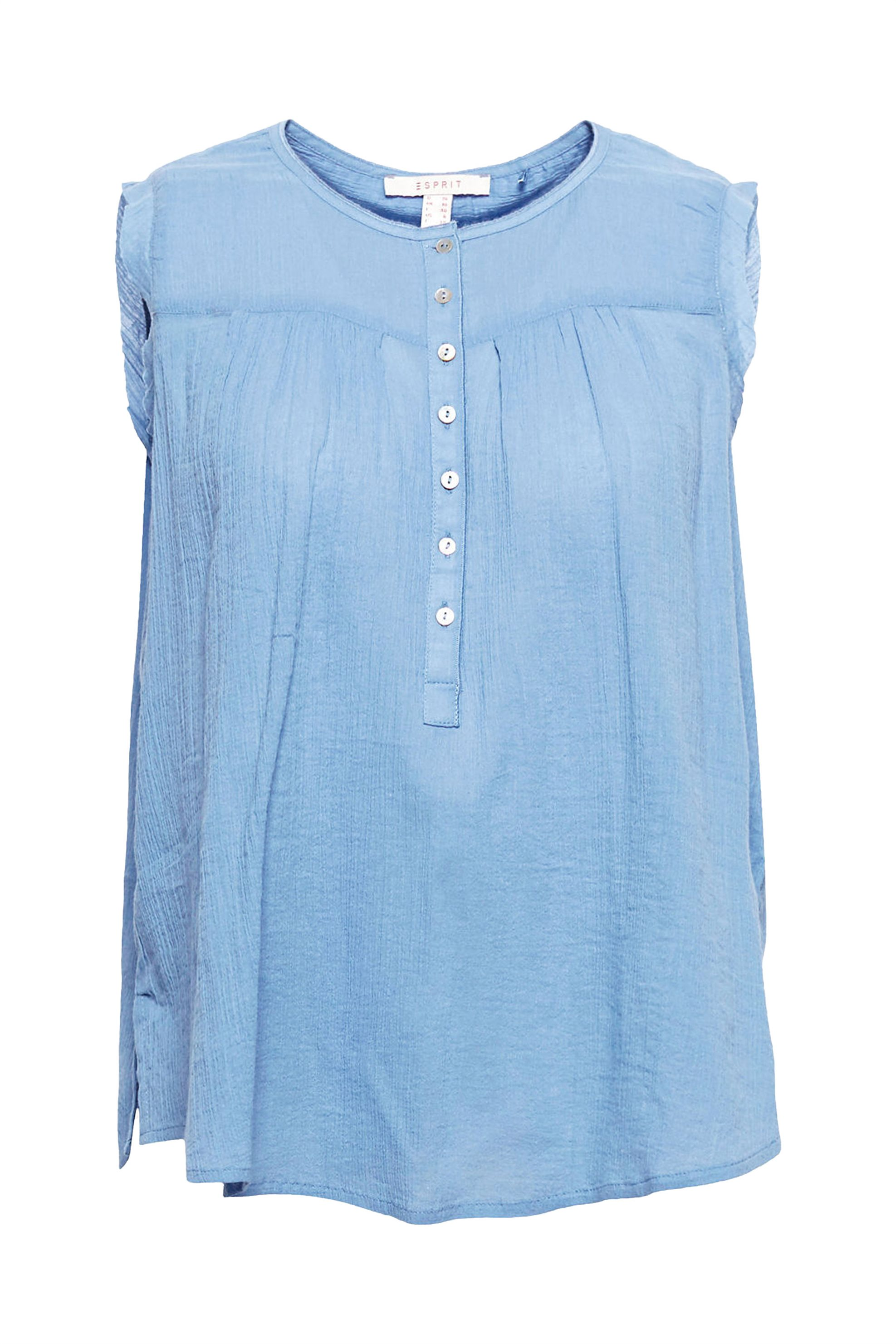 Update   Esprit γυναικεία μπλούζα αμάνικη - 058EE1F022 - Μπλε ... 6559567fe6d
