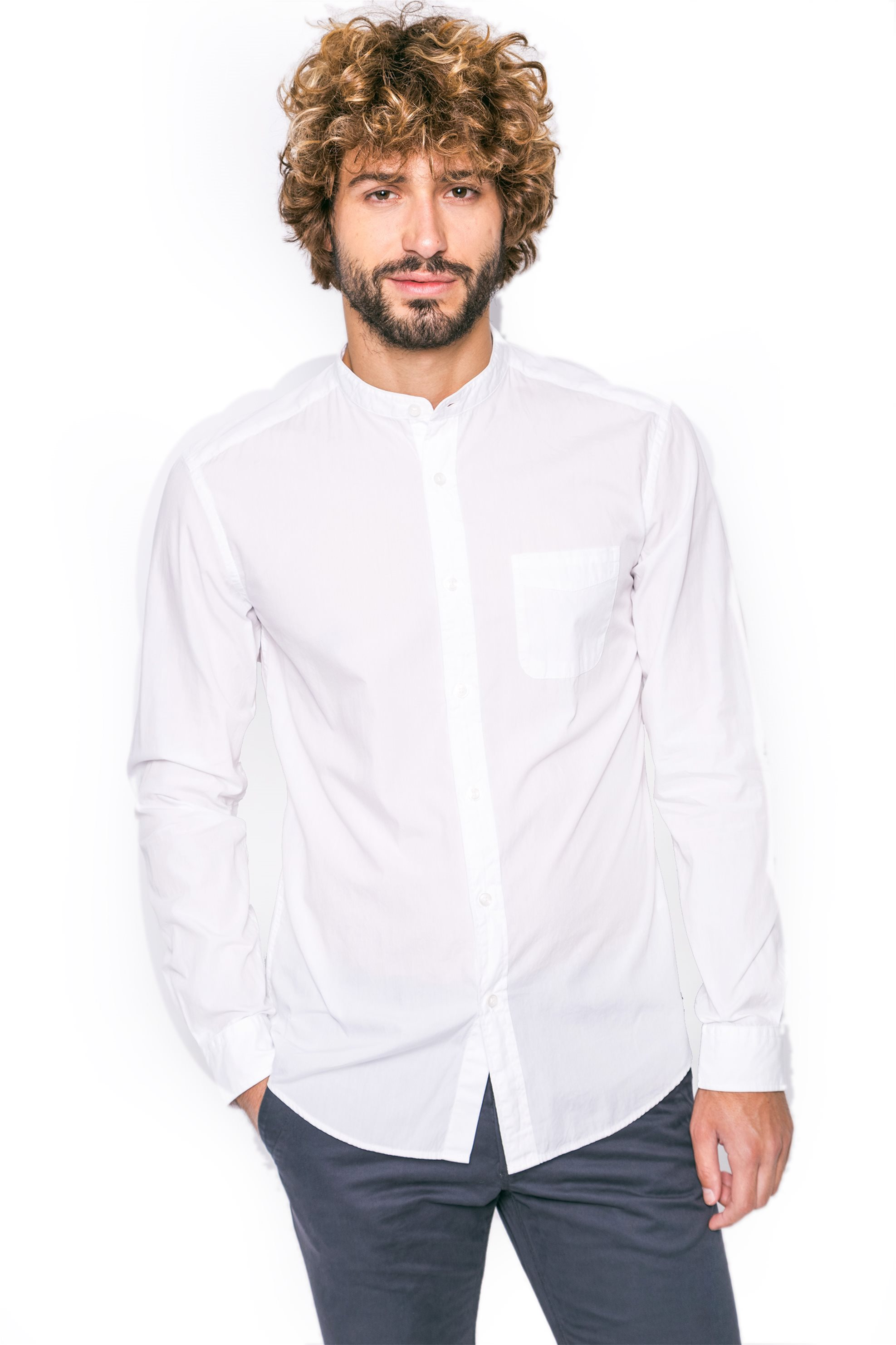b7b69ca9c450 Notos Ανδρικό πουκάμισο Esprit - 077EE2F015 - Λευκό