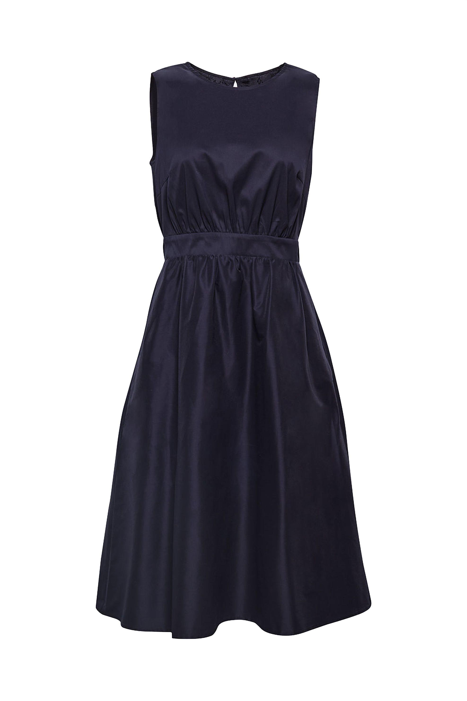 Esprit γυναικείο φόρεμα με δαντέλα πλάτη - 078EO1E013 - Μπλε Σκούρο γυναικα   ρουχα   φορέματα   midi φορέματα