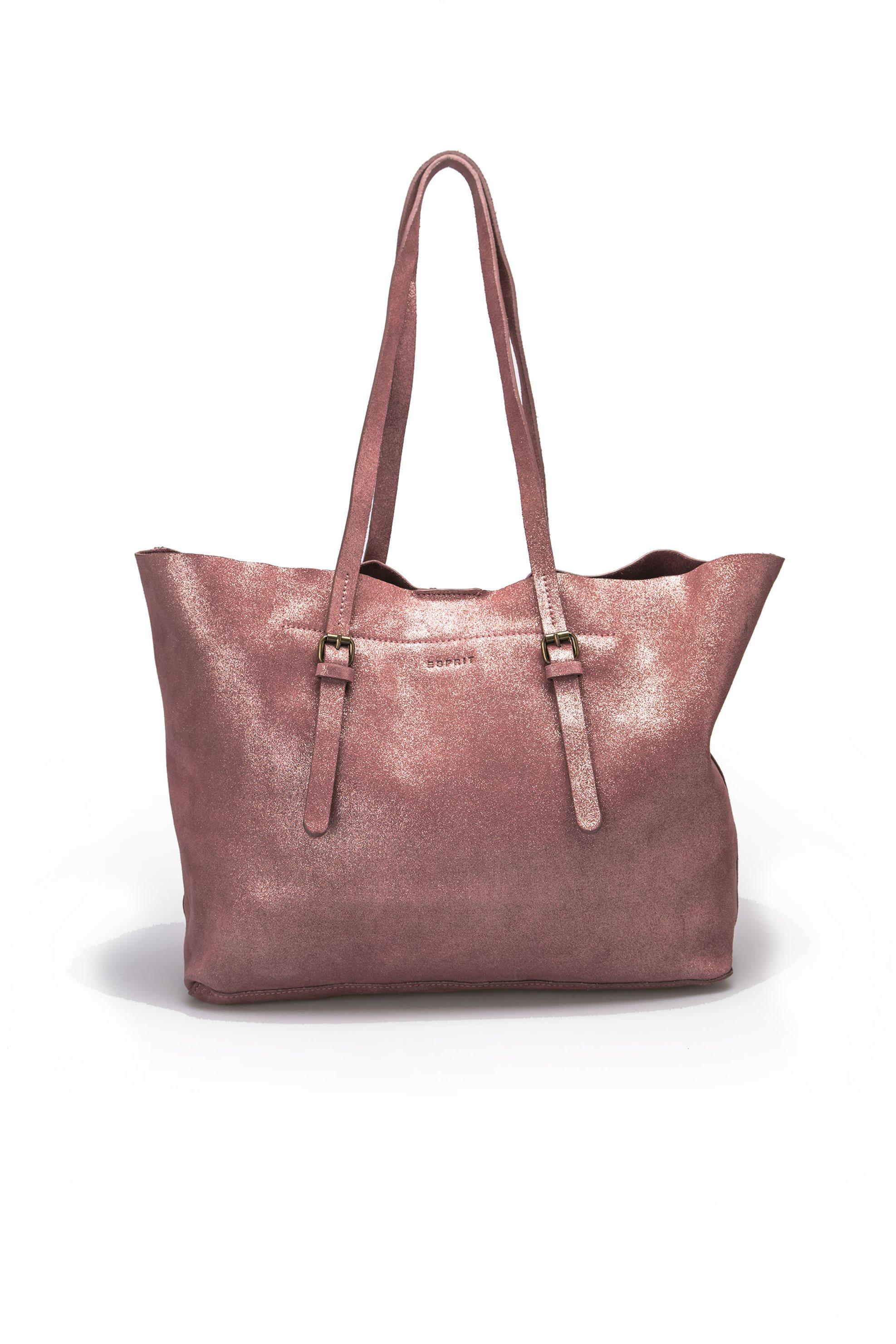 Γυναικεία τσάντα Esprit - 087EA1O063 - Ροζ γυναικα   τσαντεσ   ώμου   shopper bags