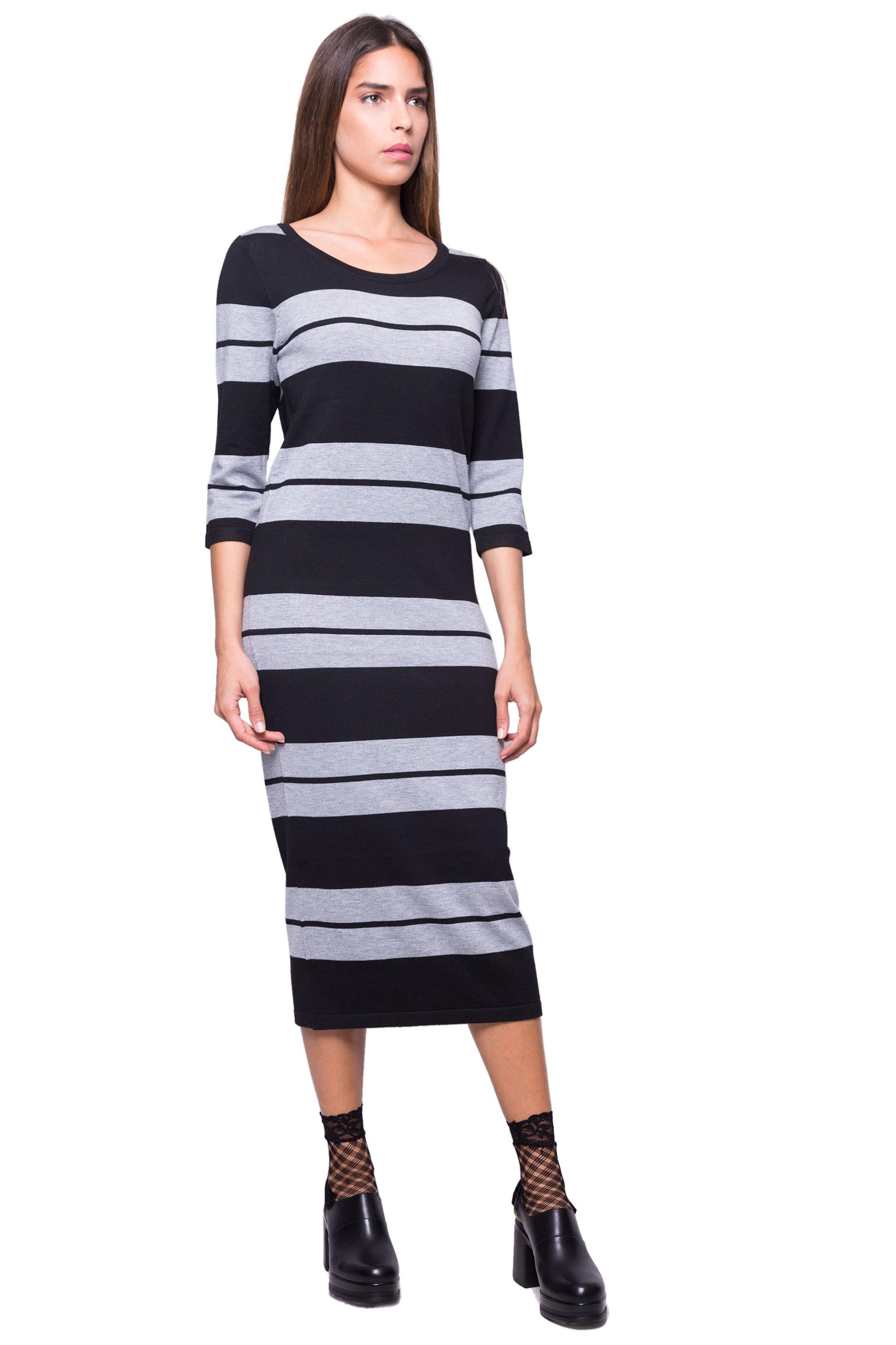 Γυναικείο φόρεμα Esprit - 097EE1E003 - Μαύρο γυναικα   ρουχα   φορέματα   midi φορέματα