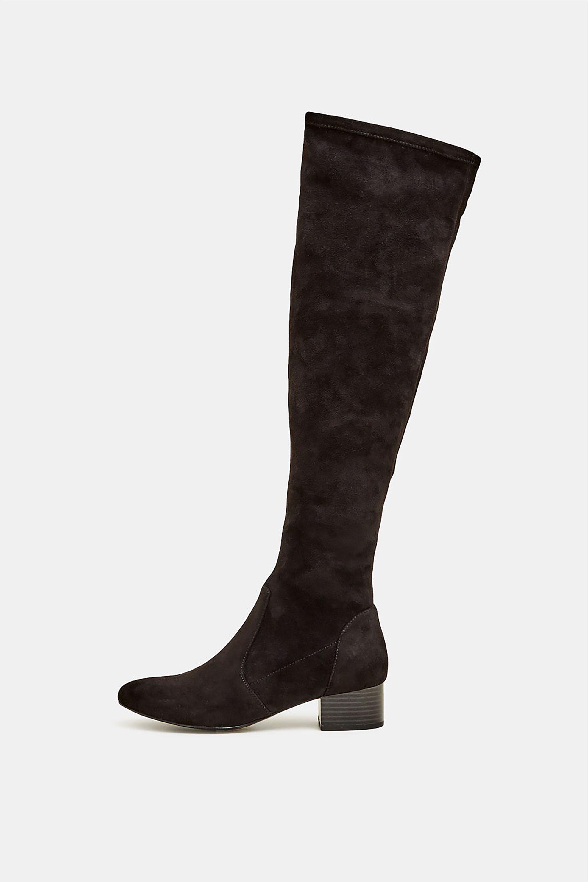 Esprit γυναικείες μπότες Over the knee – 099EK1W016 – Μαύρο