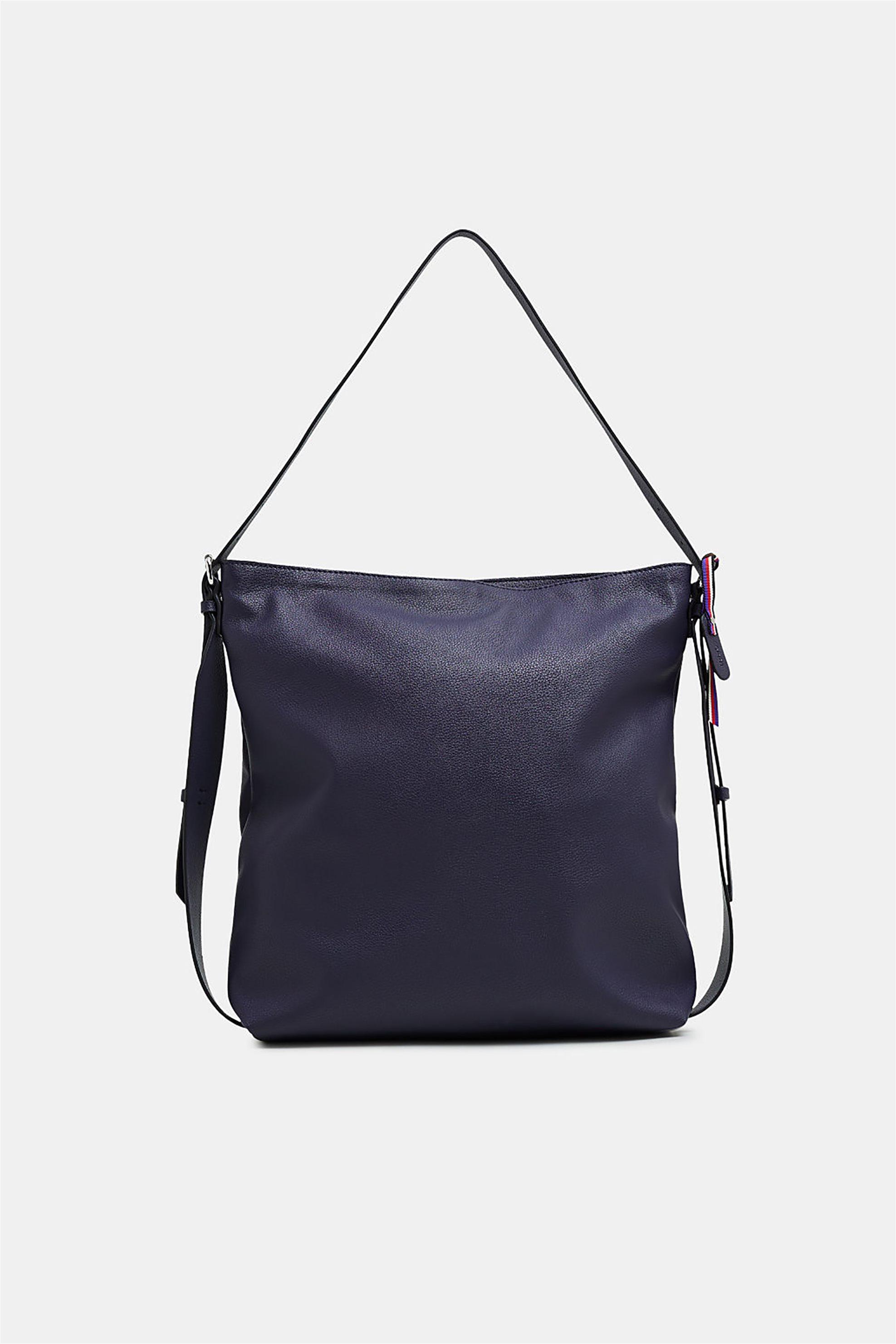 cb52bdd45e Esprit γυναικεία τσάντα ώμου με διακοσμητικές αγκράφες - 128EA1O007 - Μπλε  Σκούρο