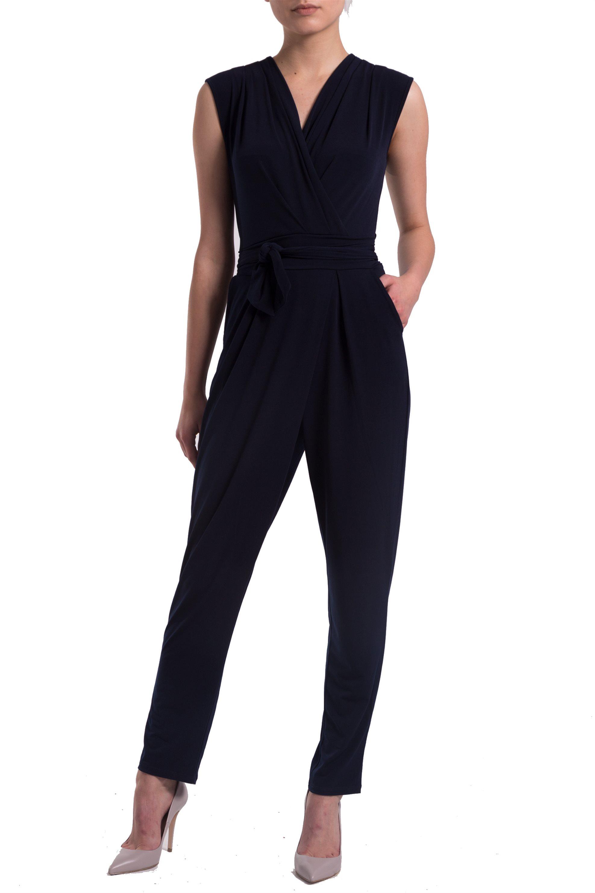 Γυναικεία ολόσωμη φόρμα Esprit - 997EO1L800 - Μπλε Σκούρο γυναικα   ρουχα   ολόσωμες φόρμες   σαλοπέτες