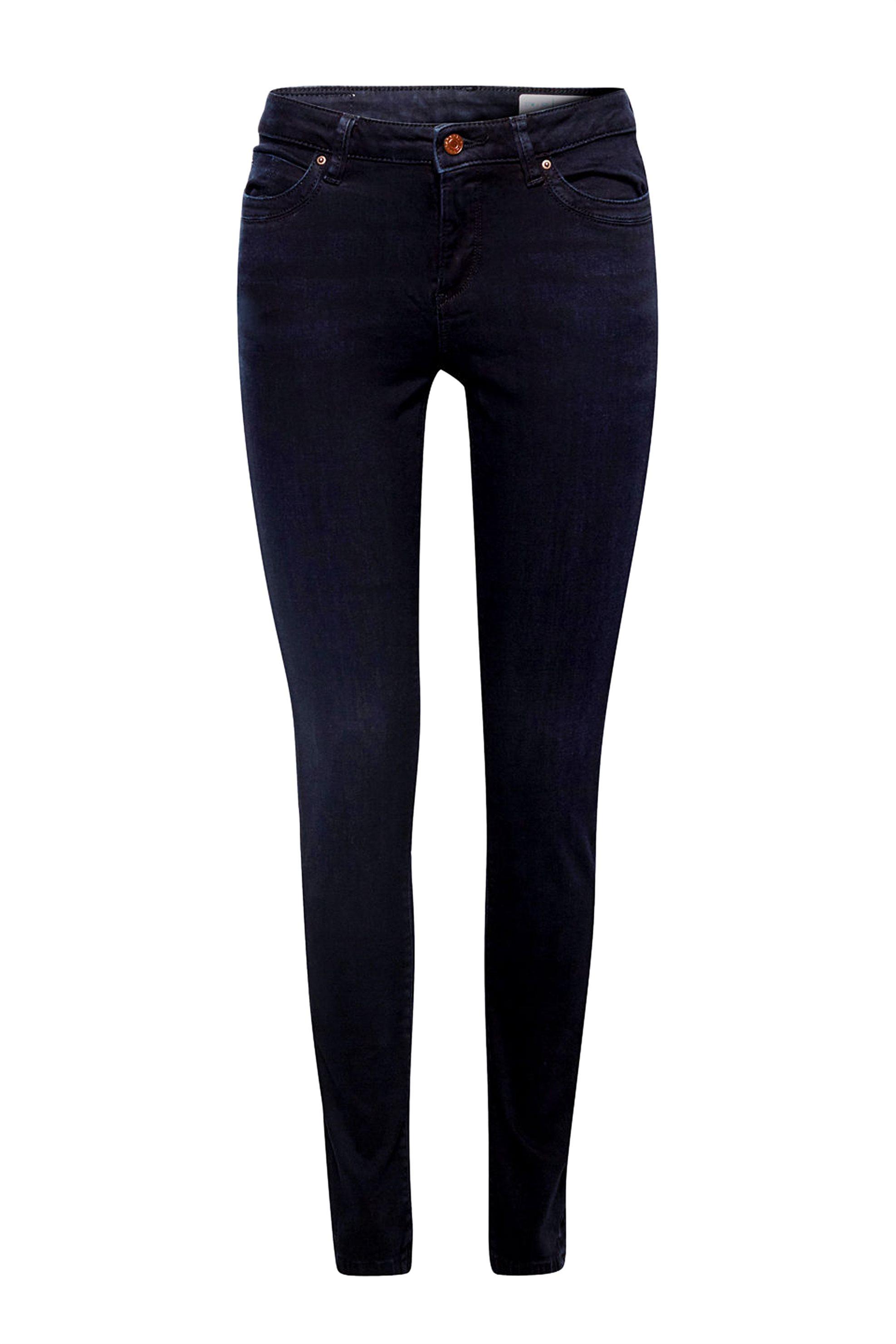 Esprit γυναικείο τζην παντελόνι skinny ελαστικό - 998EE1B811 - Μπλε Σκούρο 819562ea082