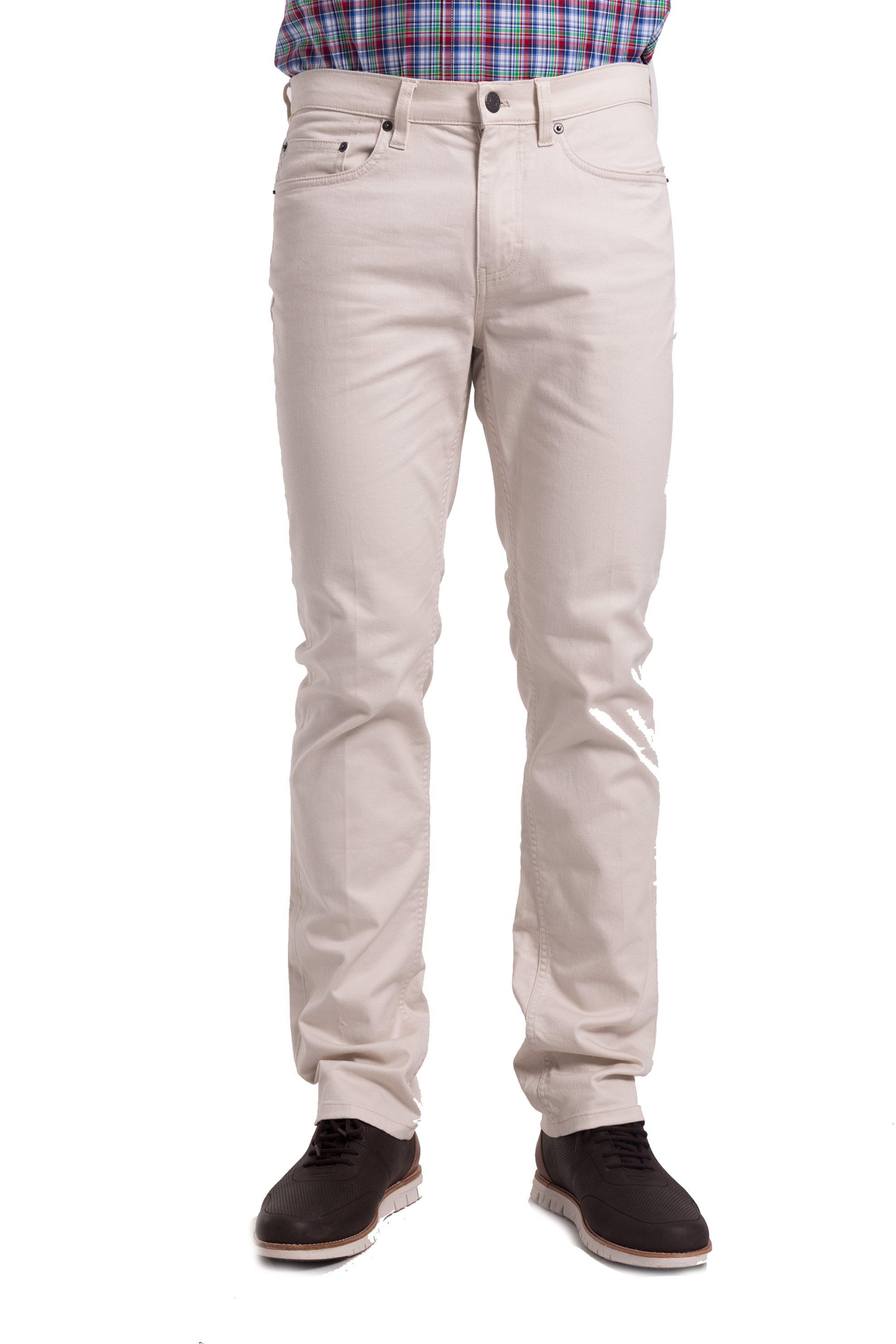 Ανδρικό Παντελόνι Μονόχρωμο Chaps - F01-XZACC-XYASA - Λευκό