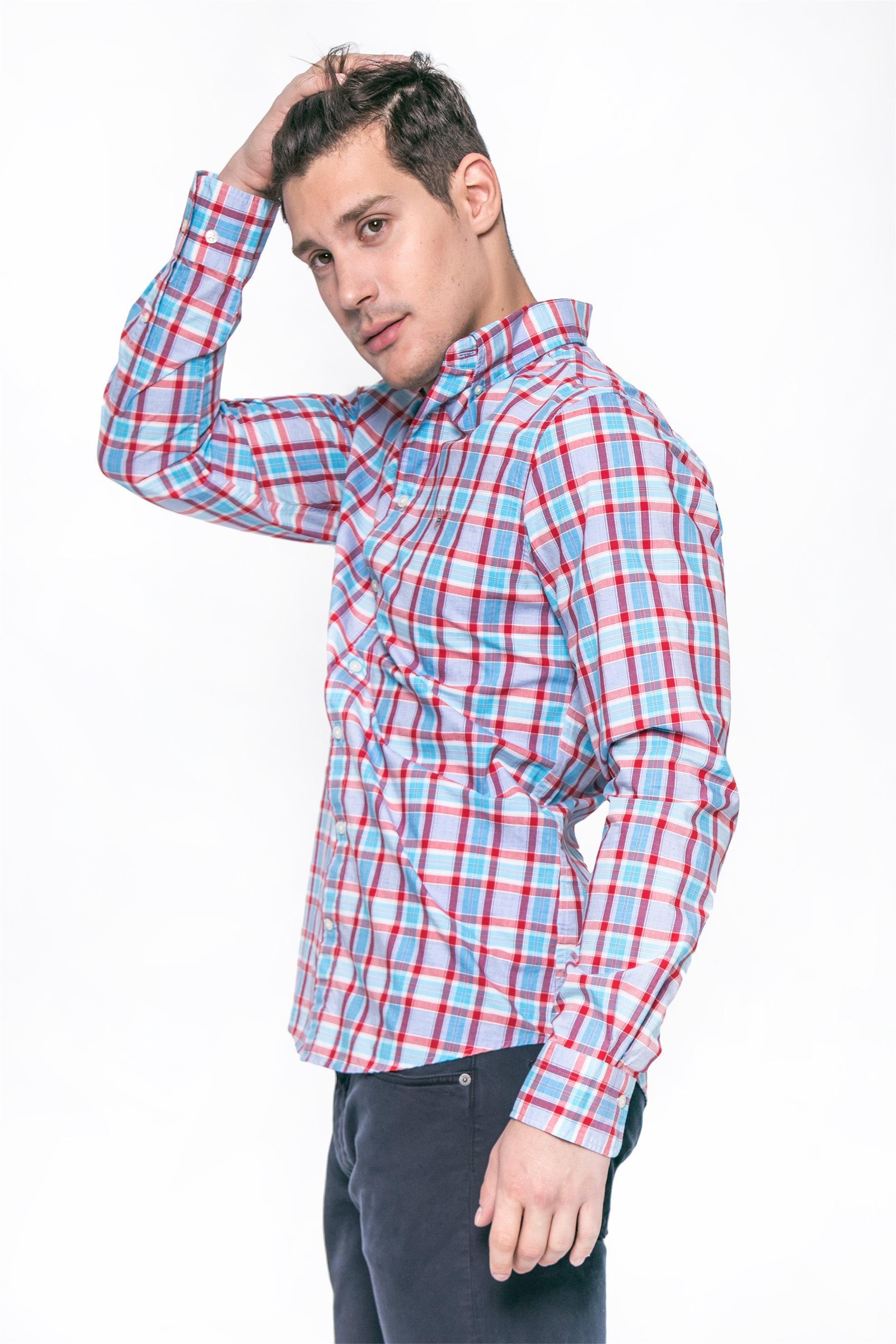 Ανδρικά   Ρούχα   Πουκάμισα   Ανδρικό Μακρυμάνικο Πουκάμισο Regular ... 9d218205a45