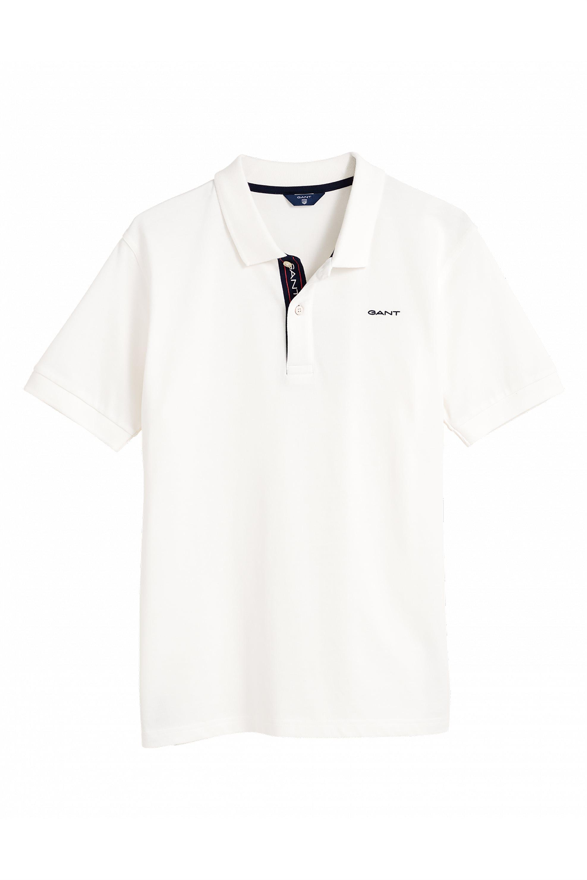 793b02f6328 Notos Gant παιδική μπλούζα πόλο με λεπτομέρεια στην πατιλέτα (9-15 ετών) -  902544