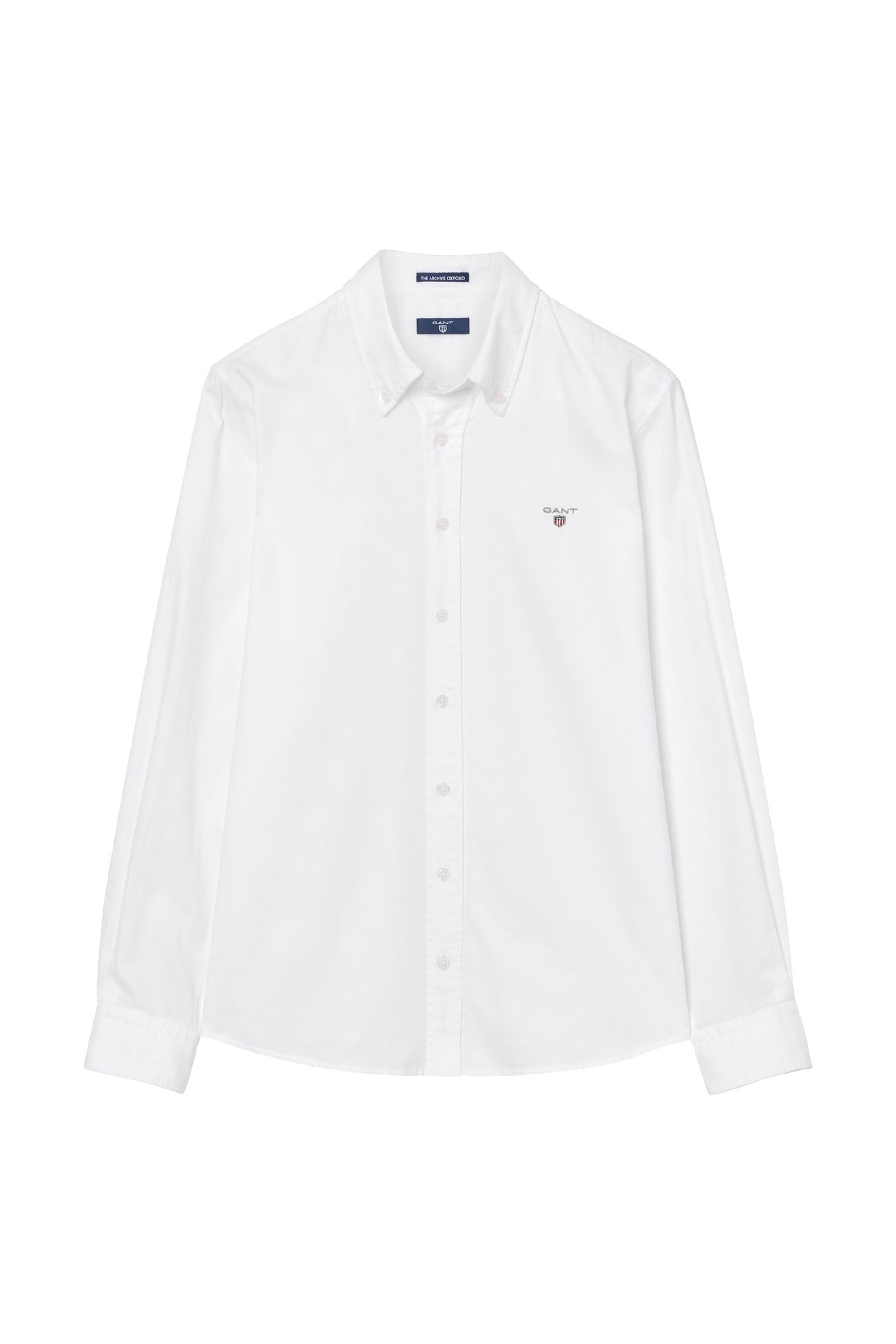 4653e02622d Notos Παιδικό μονόχρωμο πουκάμισο GANT - 930390 - Λευκό