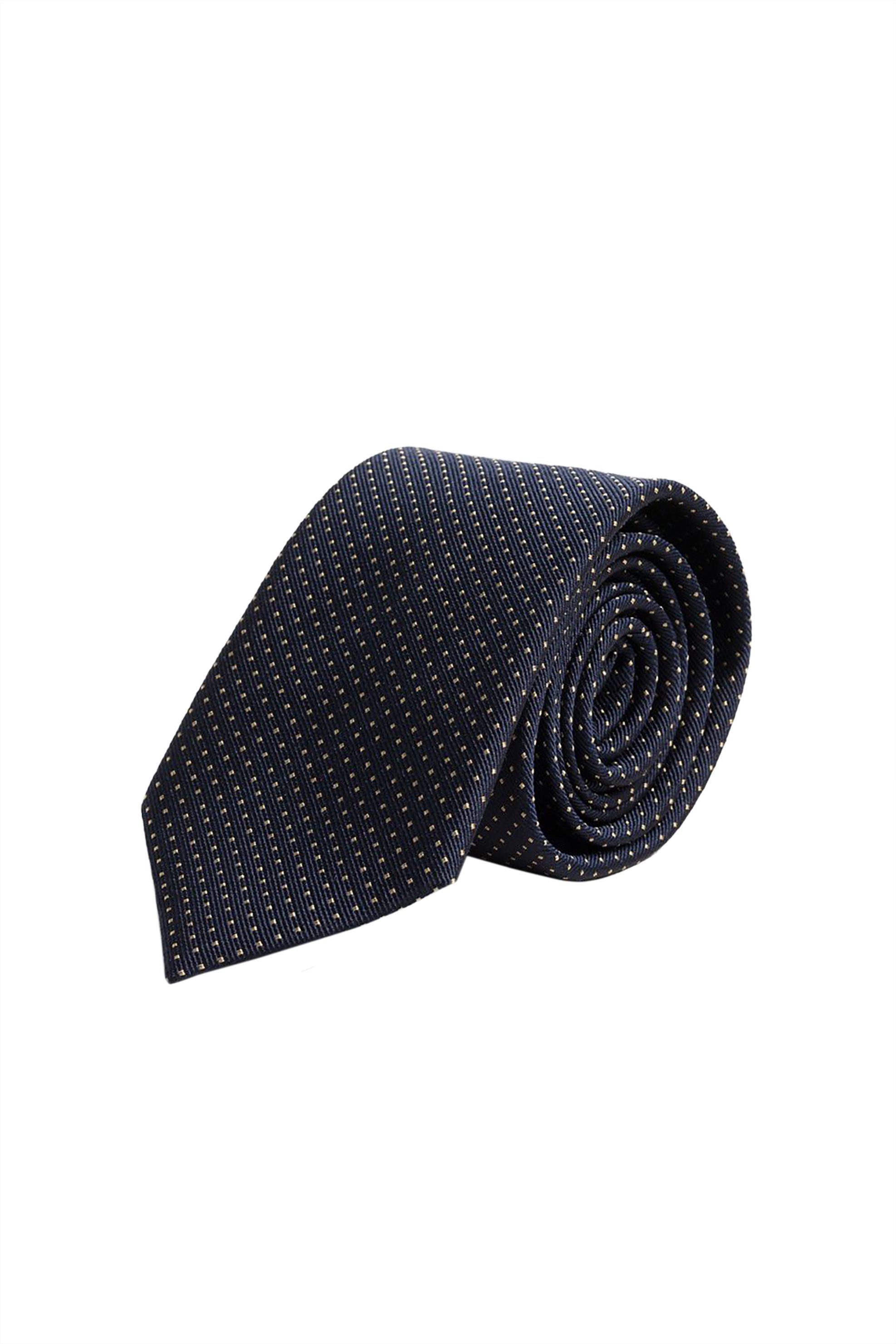 Gant ανδρική μεταξωτή γραβάτα με πουά print
