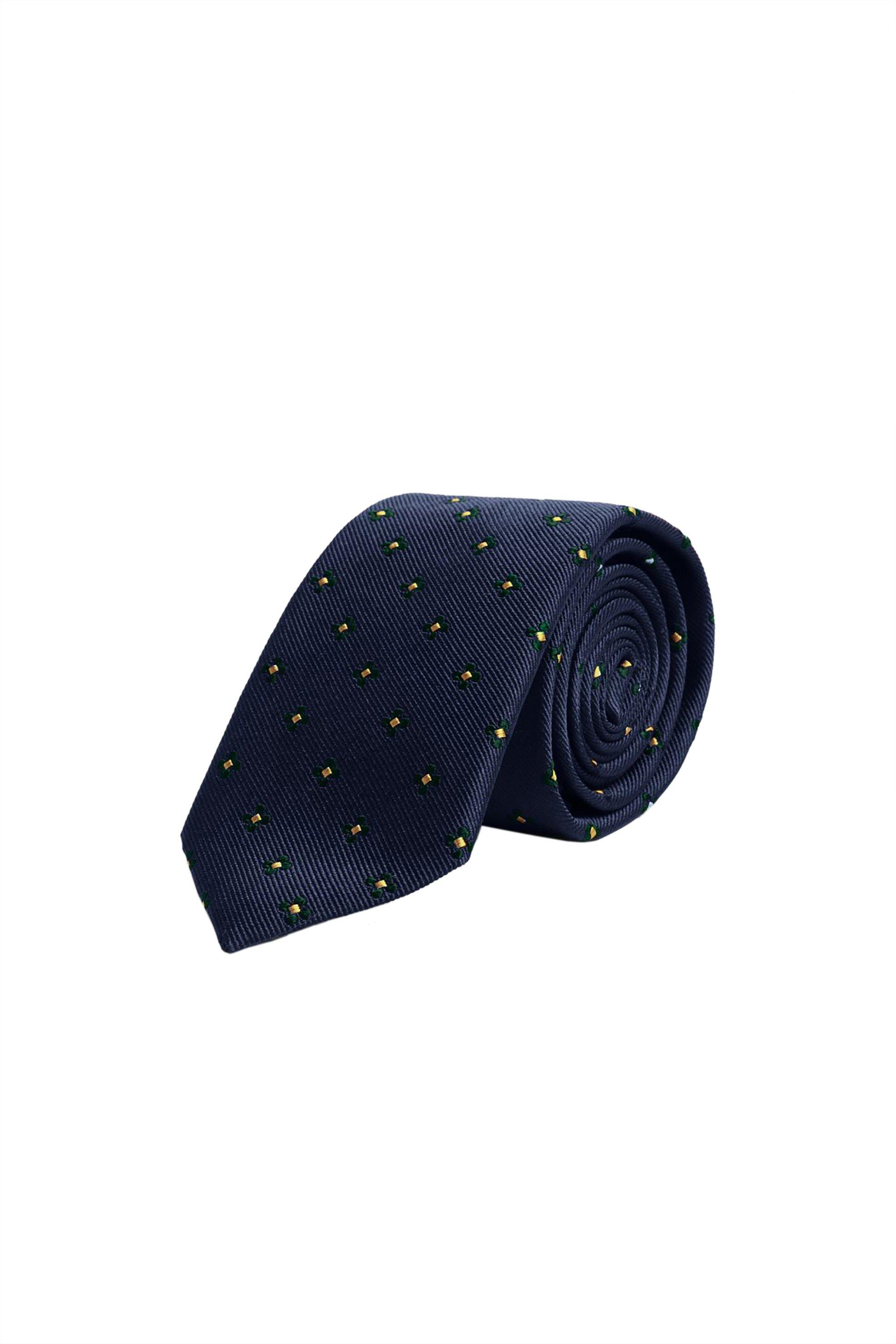 Gant ανδρική μεταξωτή γραβάτα με κεντημένα μικροσχέδια