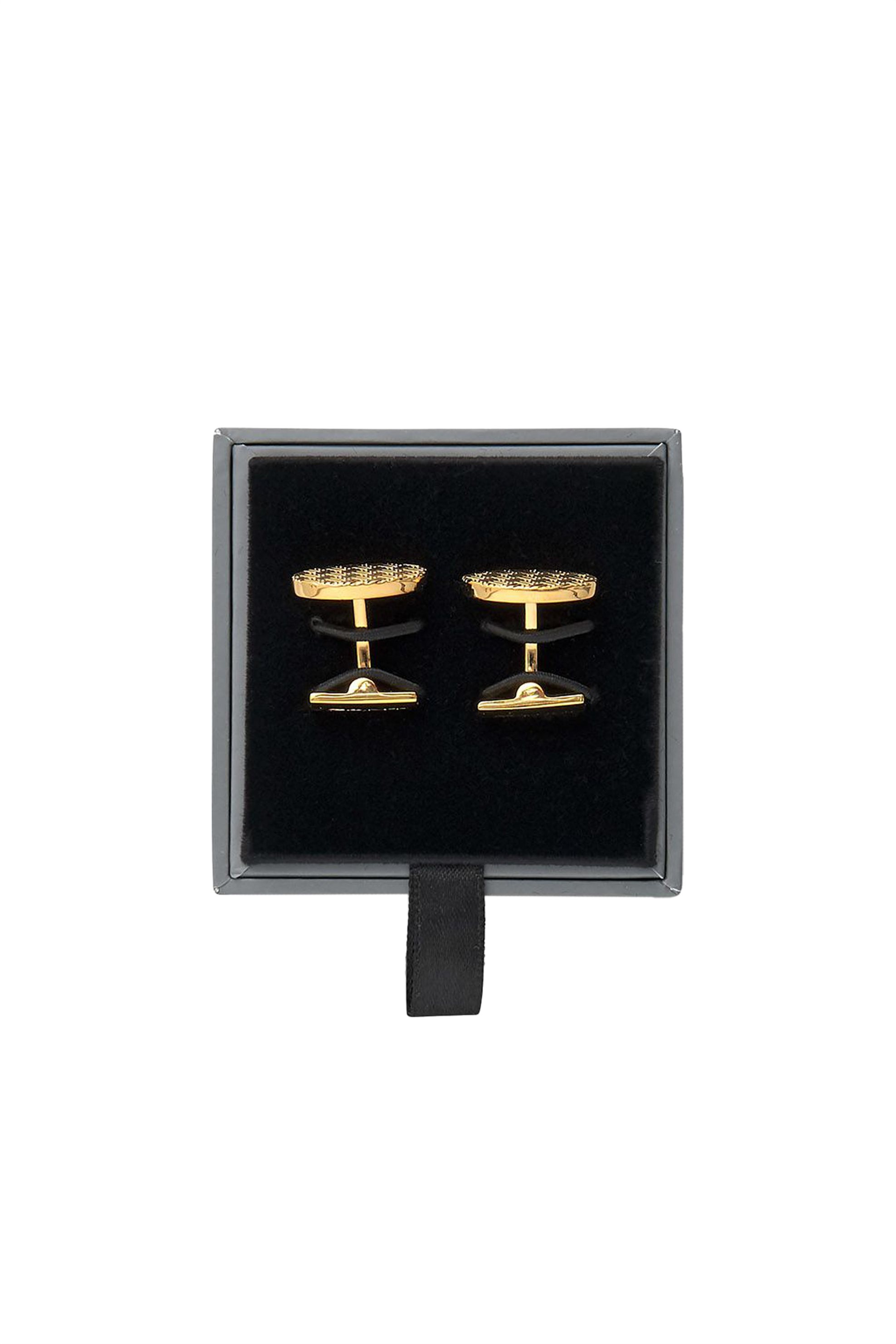 Gant ανδρικά μανικετόκουμπα στρογγυλά - 9990007 - Χρυσό ανδρασ   αξεσουαρ   μανικετόκουμπα
