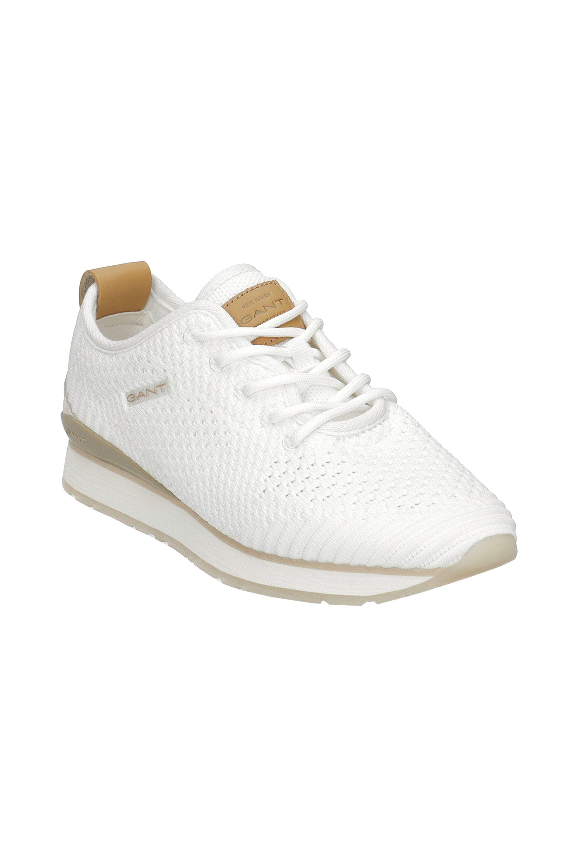 "Gant γυναικεία sneakers με κορδόνια ""Bevinda"" – 20538480 – Λευκό"