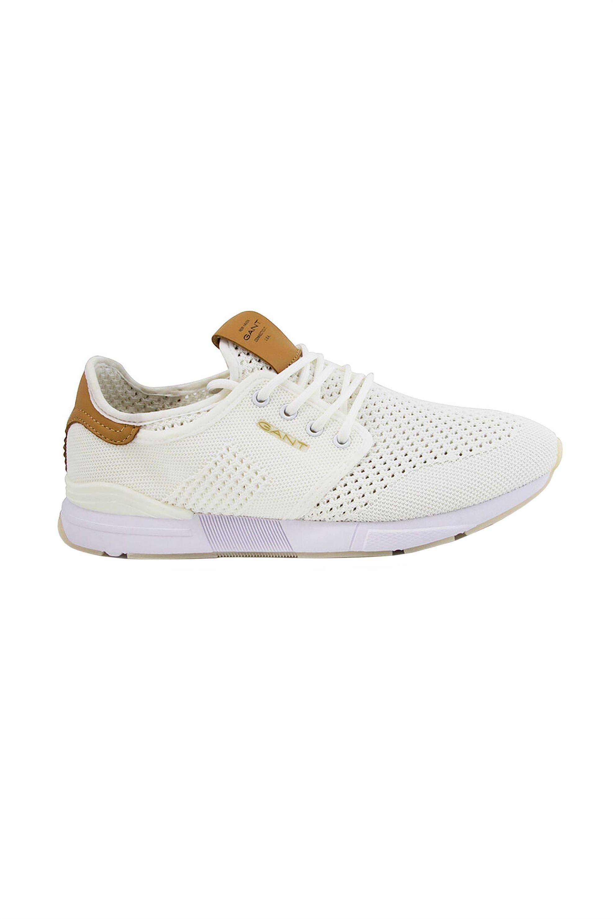 "Gant ανδρικά sneakers με κορδόνια ""Brentoon"" – 20638475 – Λευκό"