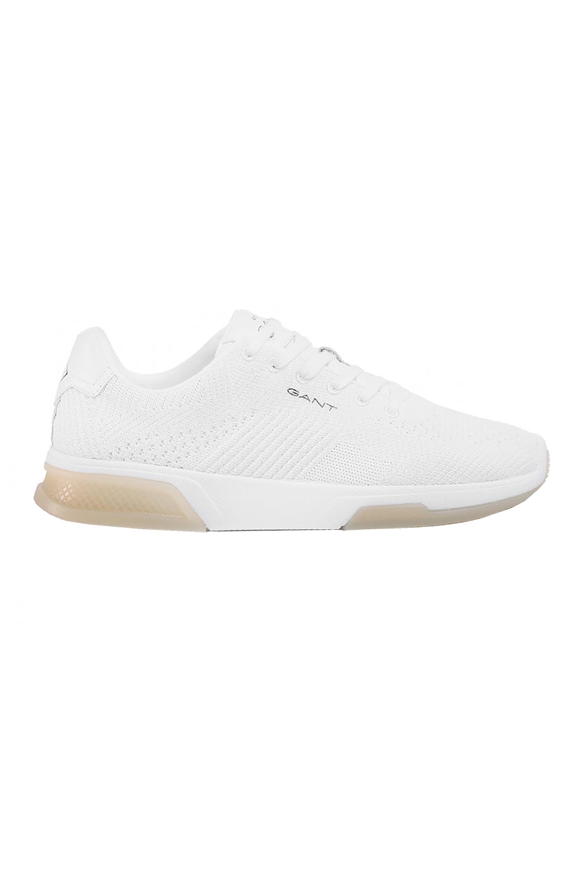 "Gant ανδρικά sneakers με κορδόνια ""Hightown"" – 20639528 – Λευκό"