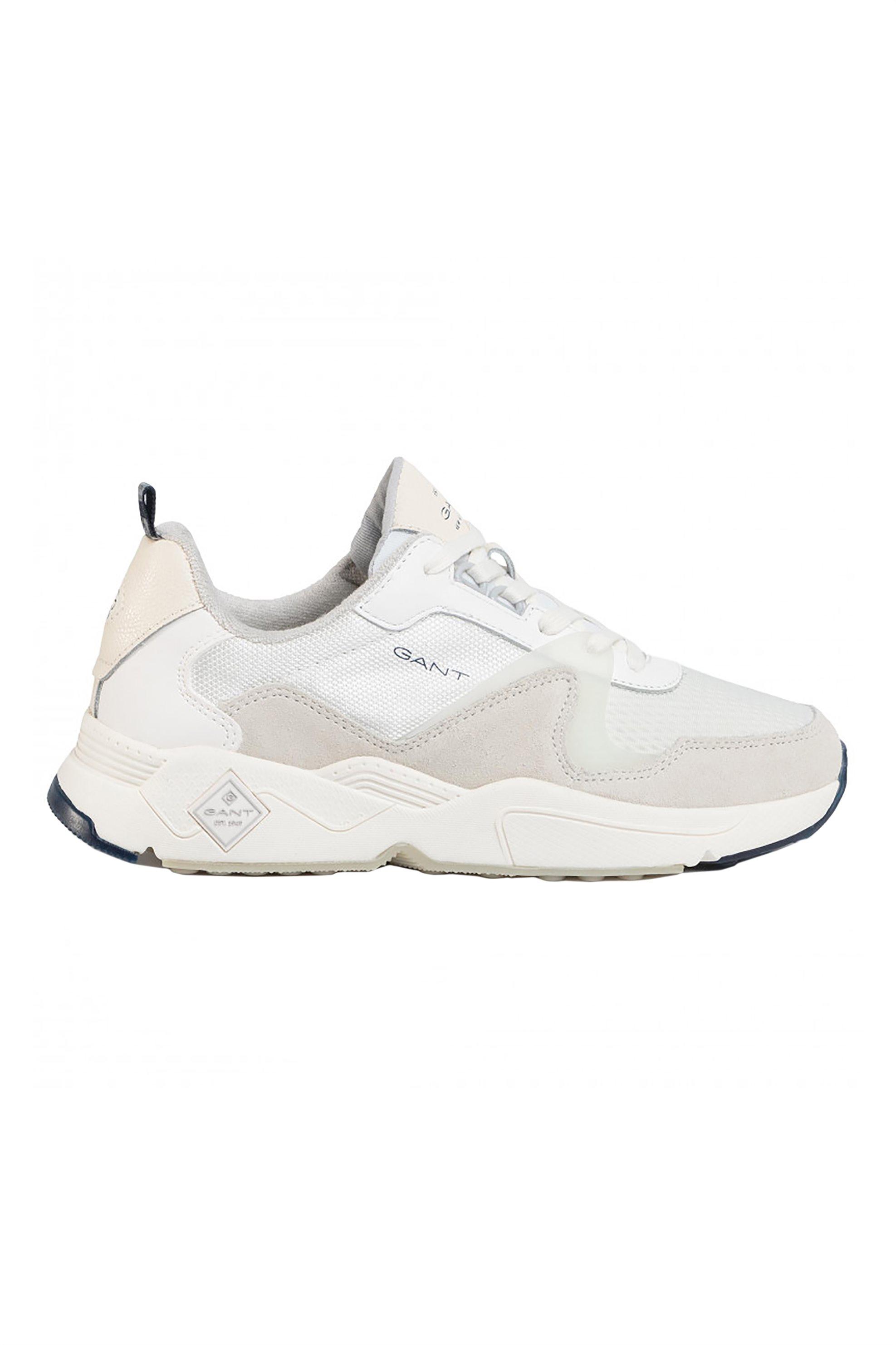 Gant ανδρικά sneakers με suede λεπτομέρειες – 20639531 – Εκρού