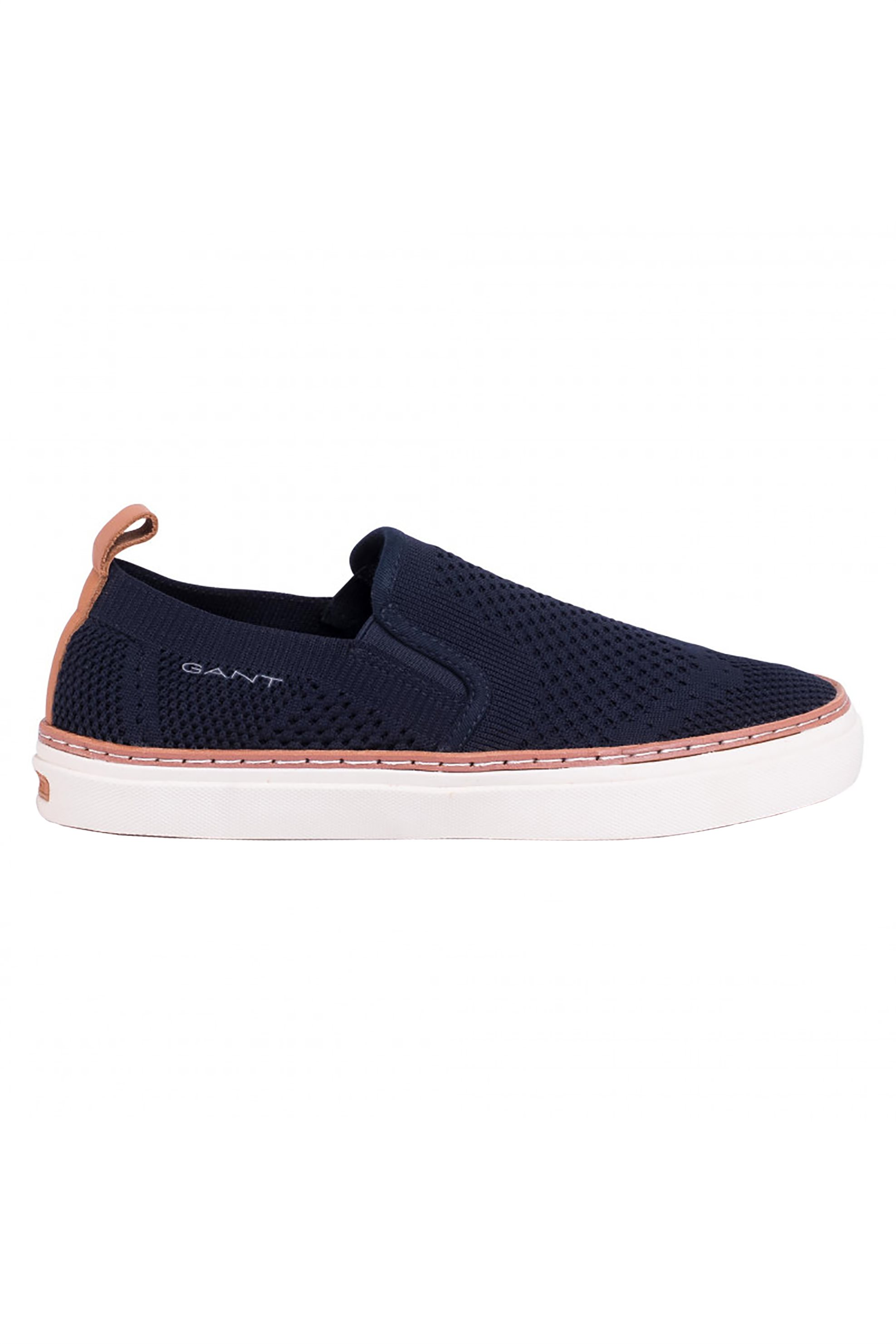 "Gant ανδρικά loafers με δερμάτινες λεπτομέρειες ""Prepville"" – 20677428 – Μπλε Σκούρο"