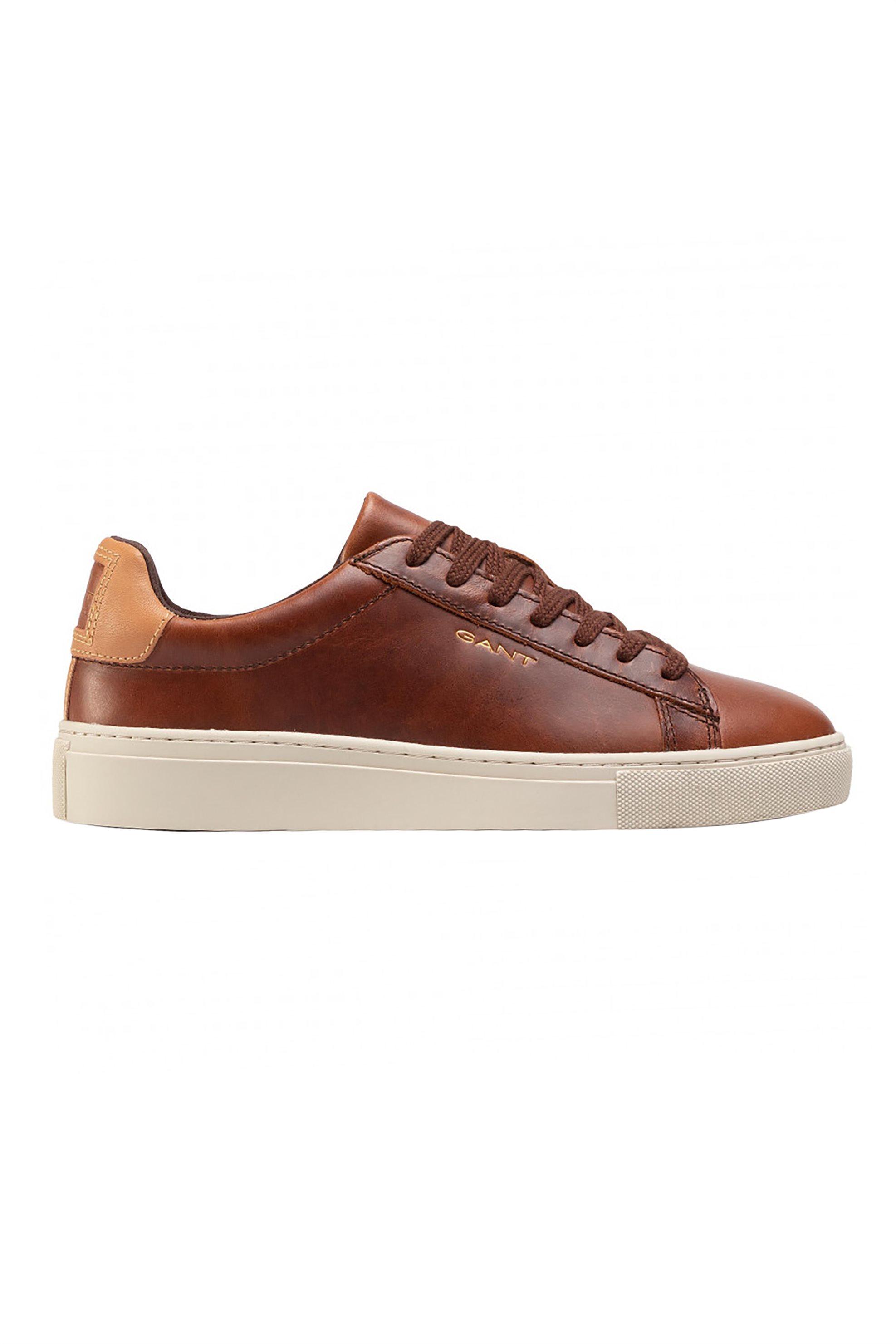 """Gant ανδρικά δερμάτινα sneakers με κορδόνια """"Mc Julien"""" – 21631864 – Ταμπά"""
