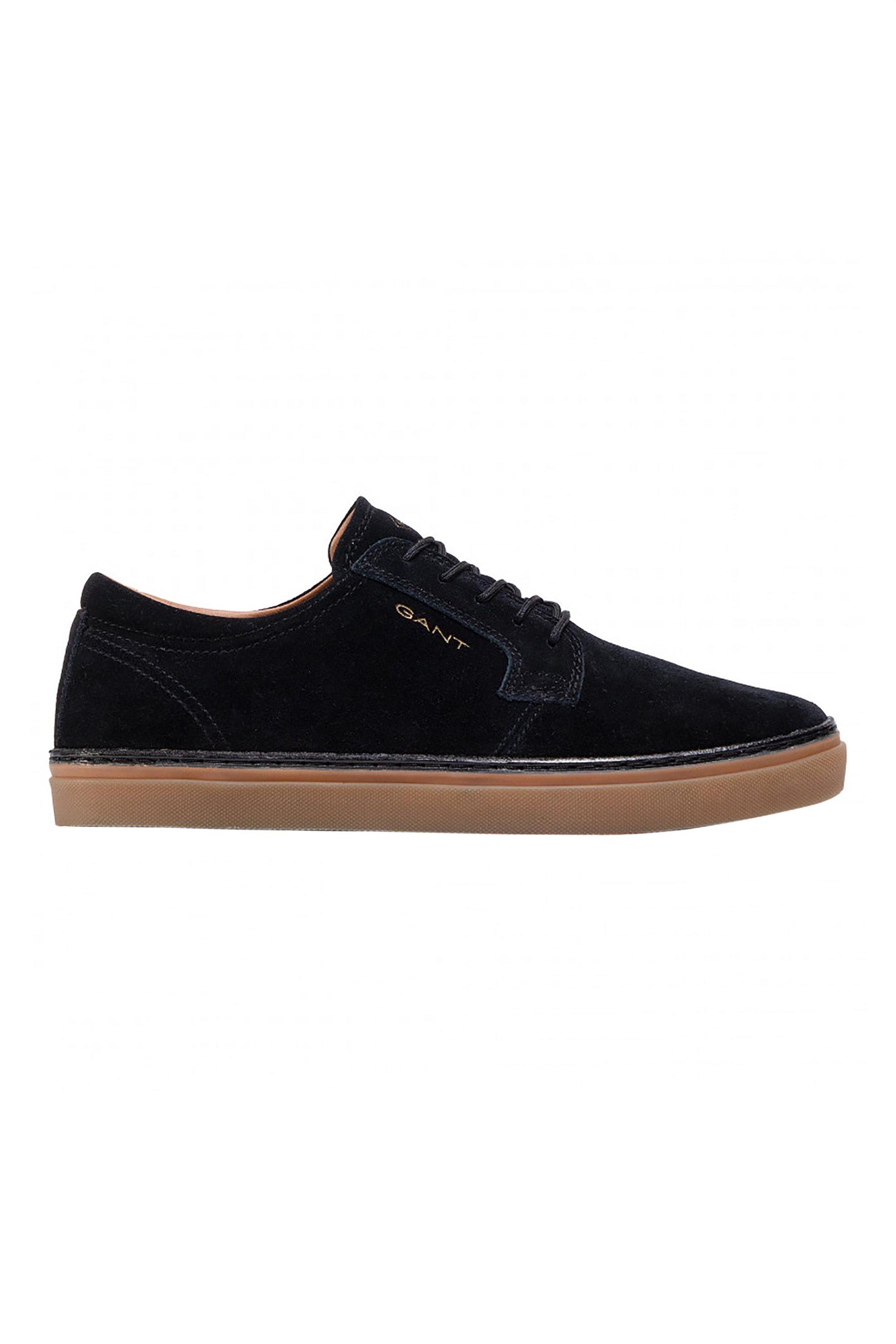 "Gant ανδρικά suede sneakers με κορδόνια ""Prepville"" – 21633875 – Μαύρο"