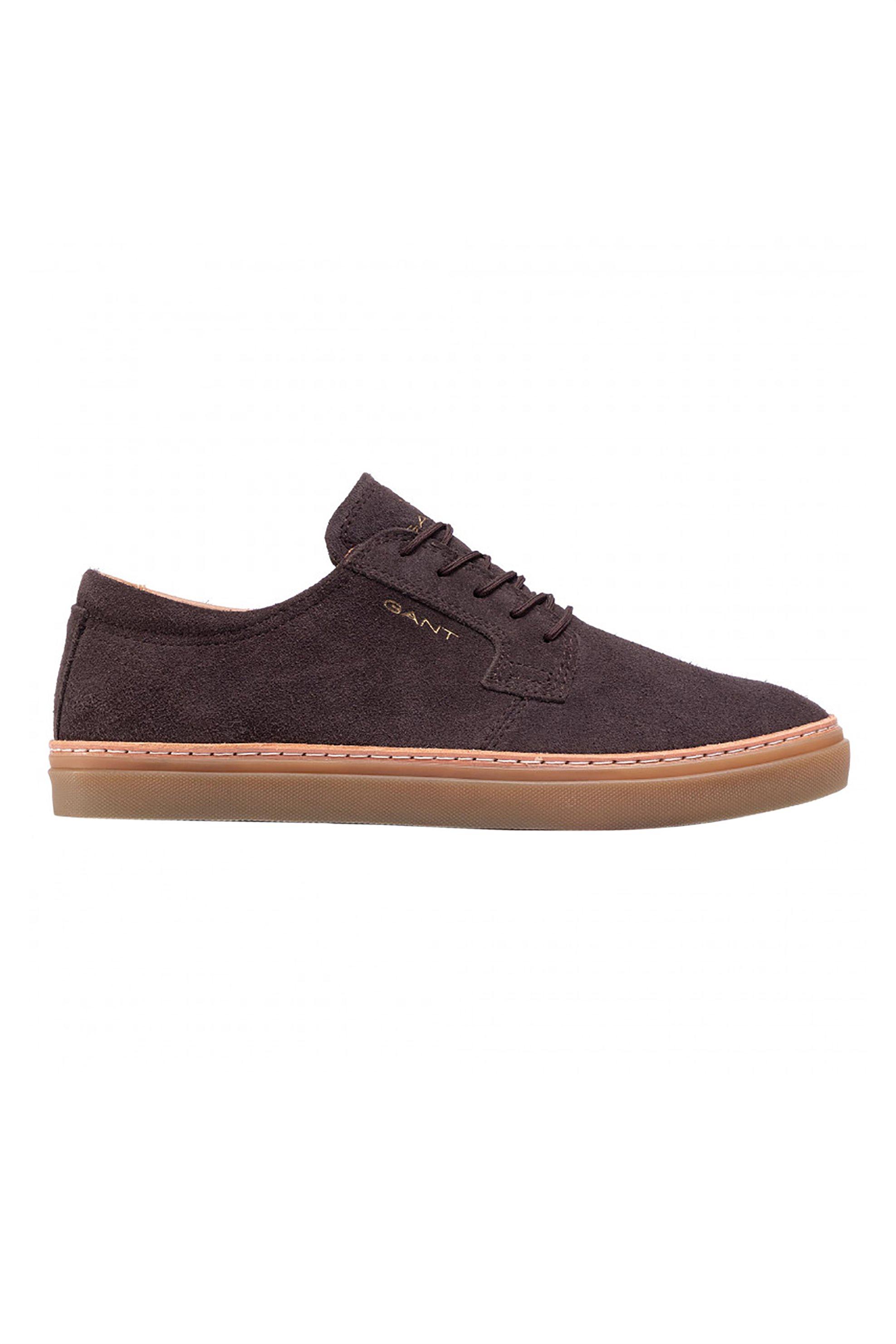 "Gant ανδρικά suede sneakers με κορδόνια ""Prepville"" – 21633875 – Καφέ"