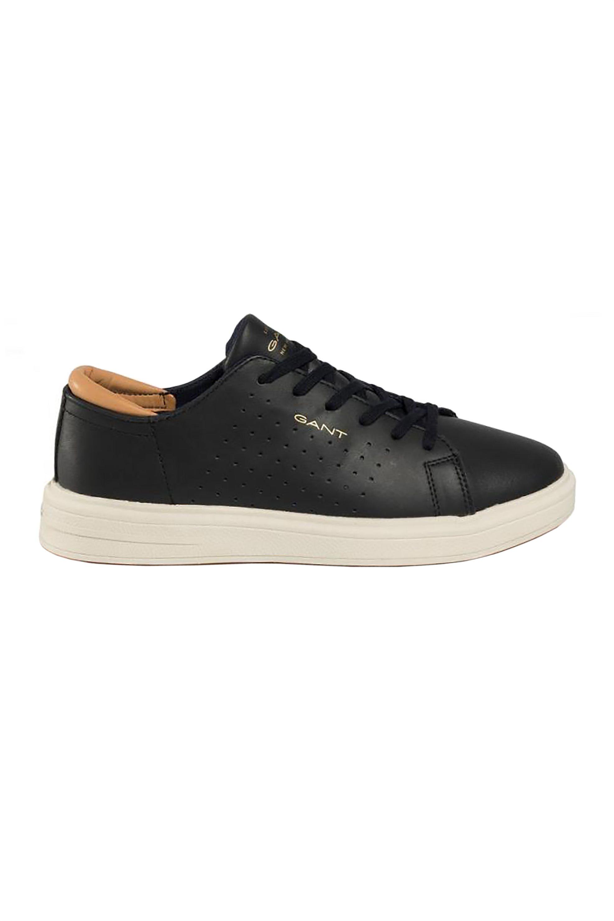 """Gant ανδρικά sneakers με διάτρητες λεπτομέρειες και logo print """"Fairville"""" – 22631633 – Μαύρο"""