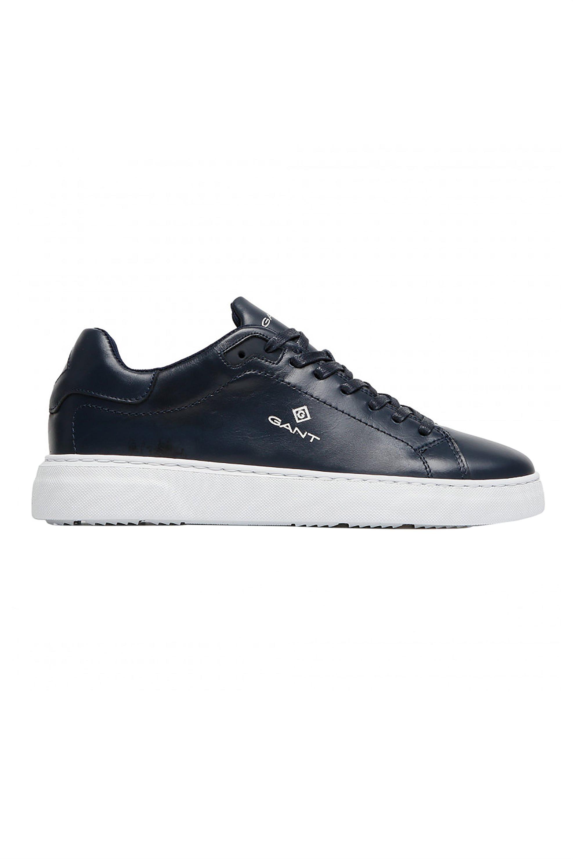 "Gant ανδρικά sneakers με logo print στο πλάι ""Joree"" – 22631645 – Μπλε Σκούρο"