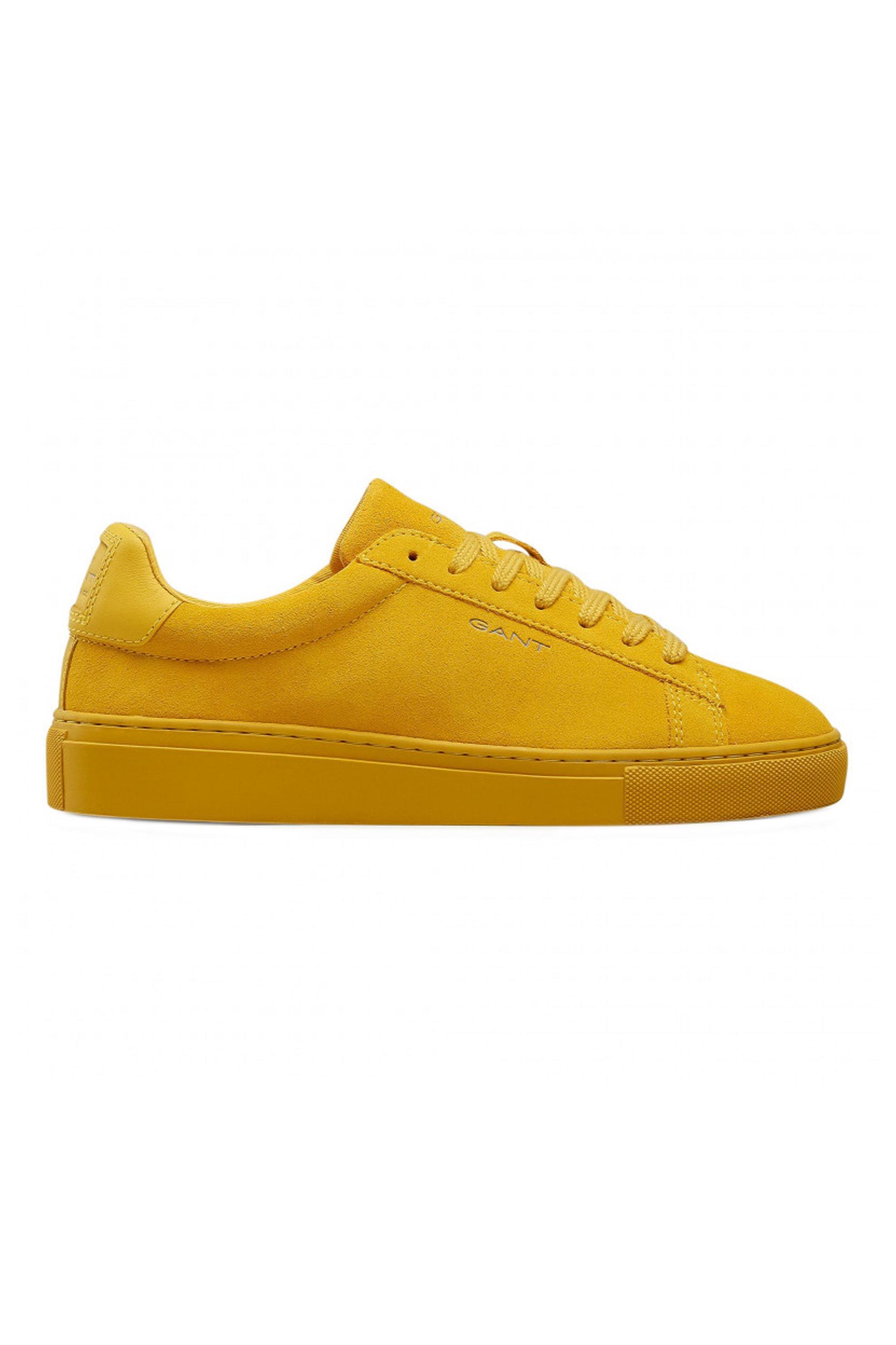 "Gant ανδρικά sneakers suede με κορδόνια ""Mc Julien"" – 22633653 – Κίτρινο"