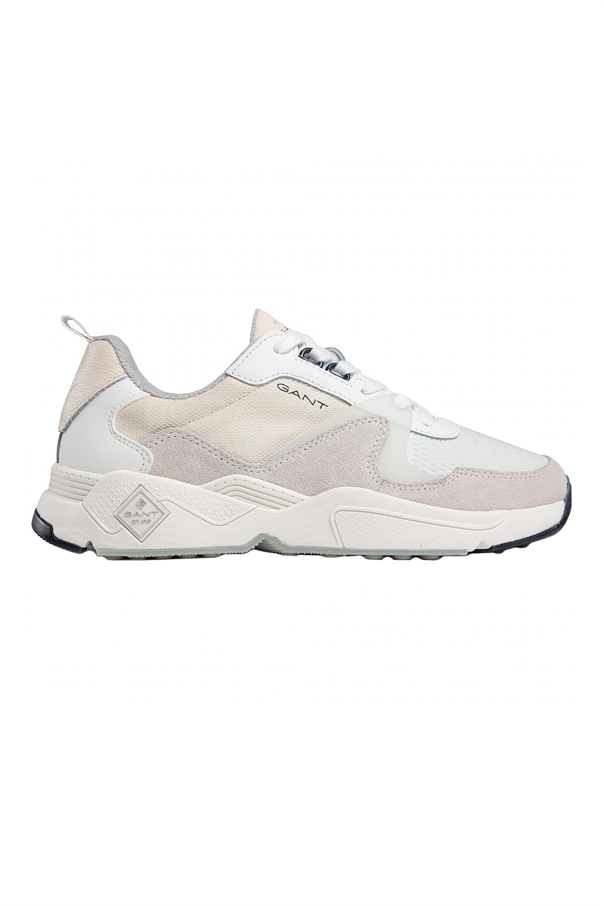 "Gant ανδρικά sneakers με logo print και suede λεπτομέρειες ""Nicewill"" – 22637657 – Μπεζ"
