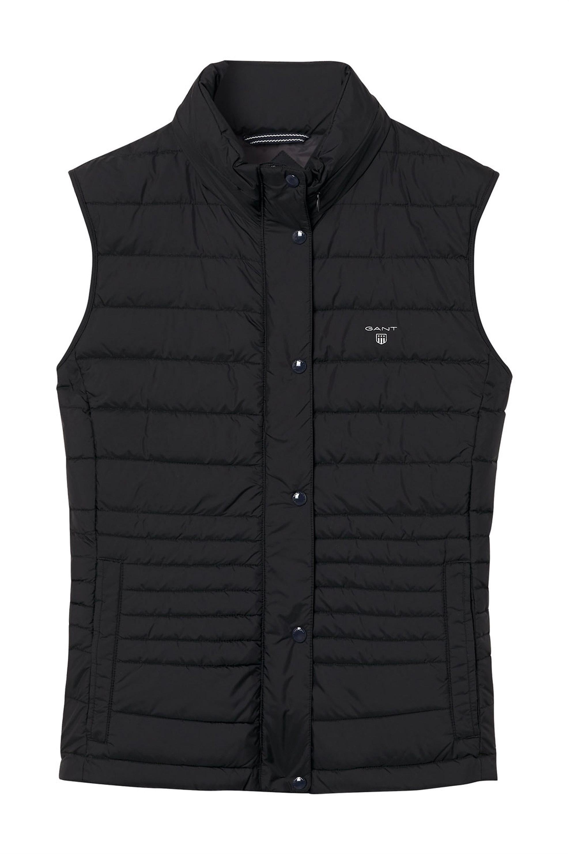 Gant γυναικείο αμάνικο καπιτονέ μπουφάν μονόχρωμο - 4700037 - Μαύρο γυναικα   ρουχα   πανωφόρια   μπουφάν   σακάκια   αμάνικα μπουφάν