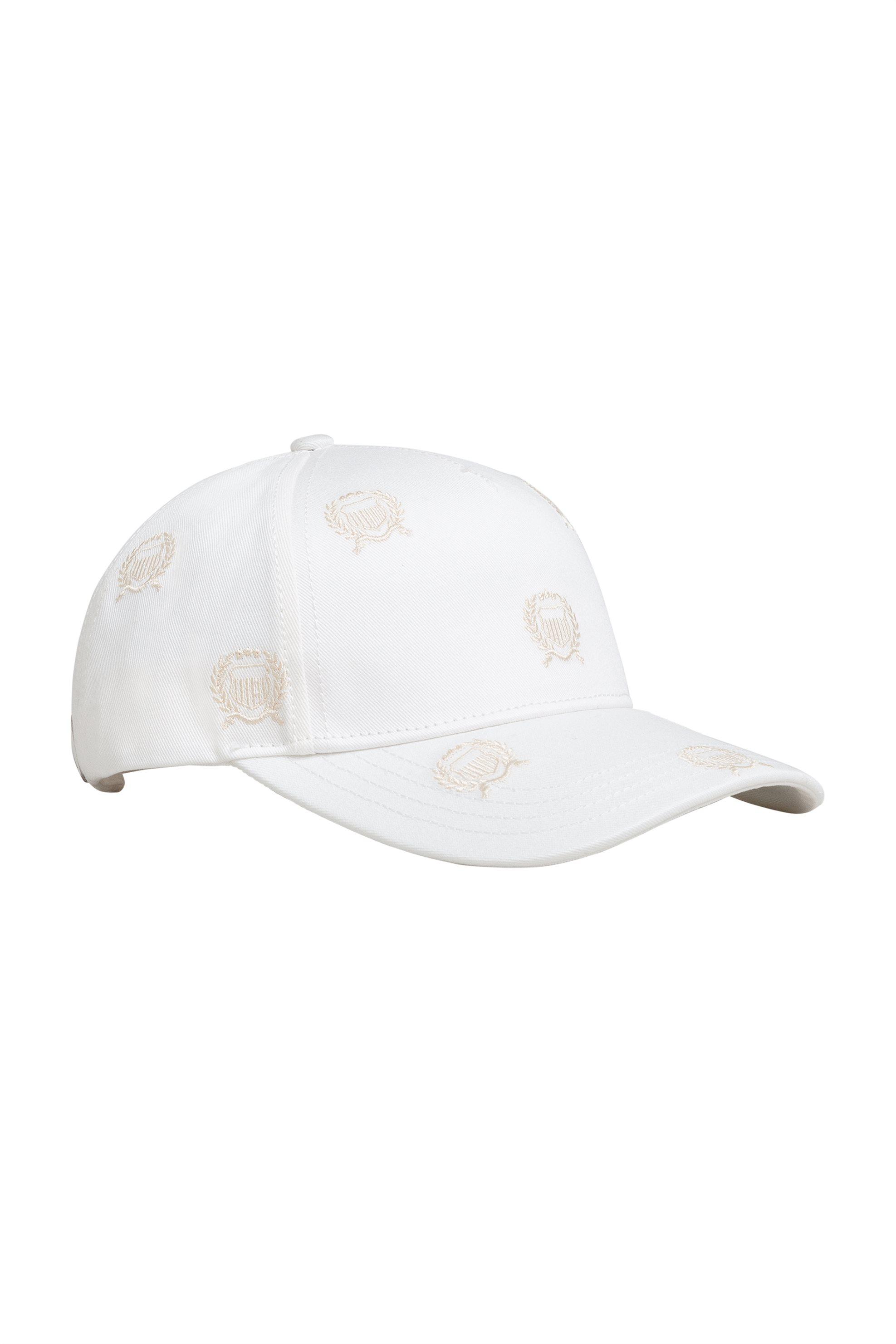 Gant γυναικείο καπελο jockey με logo κεντήματα ''Crest'' - 4900034 - Εκρού