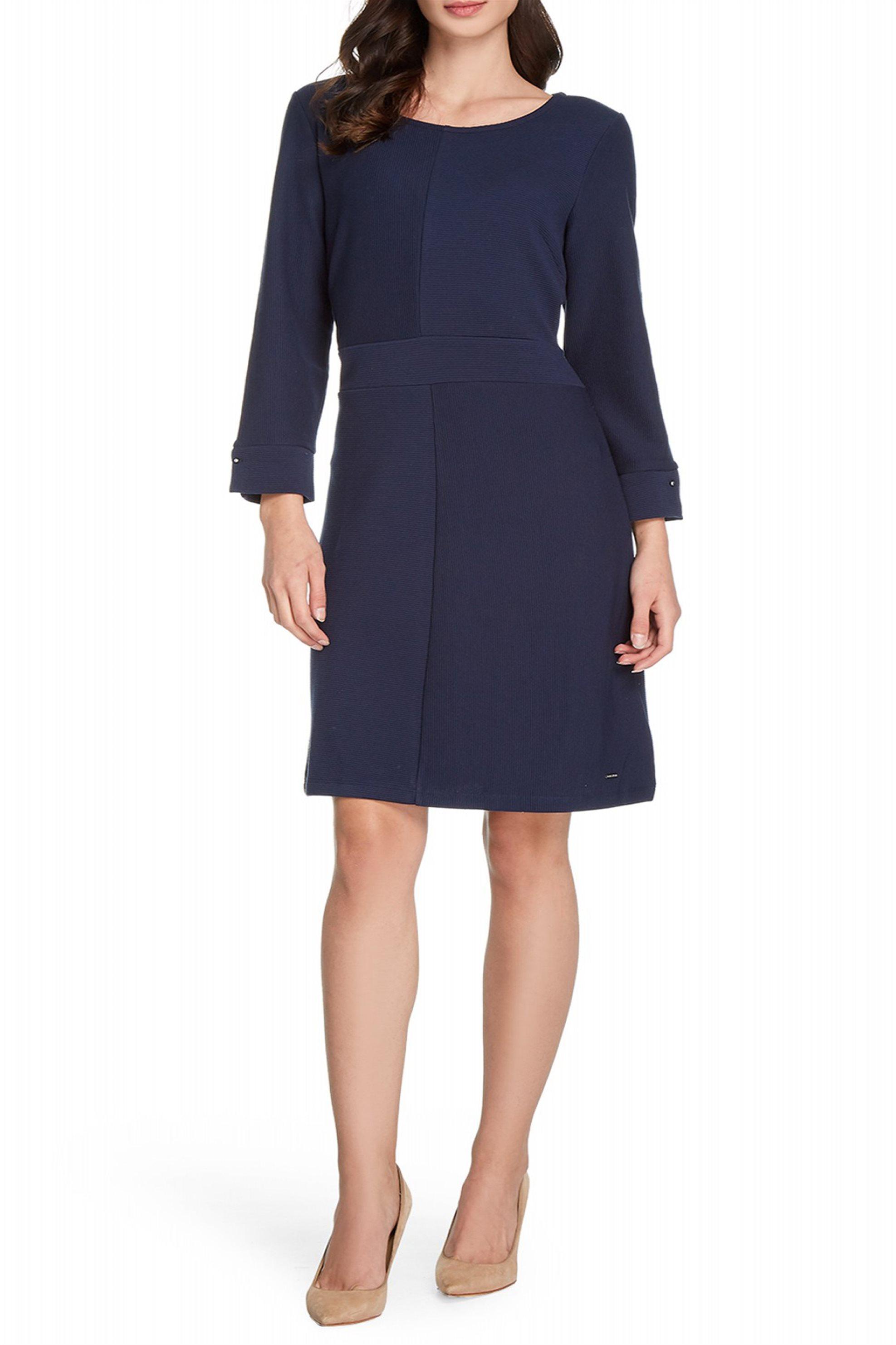 Nautica γυναικείο mini φόρεμα με λεπτομέρεια στην μανσέτα - 83D220 - Μπλε Σκούρο γυναικα   ρουχα   φορέματα   mini φορέματα