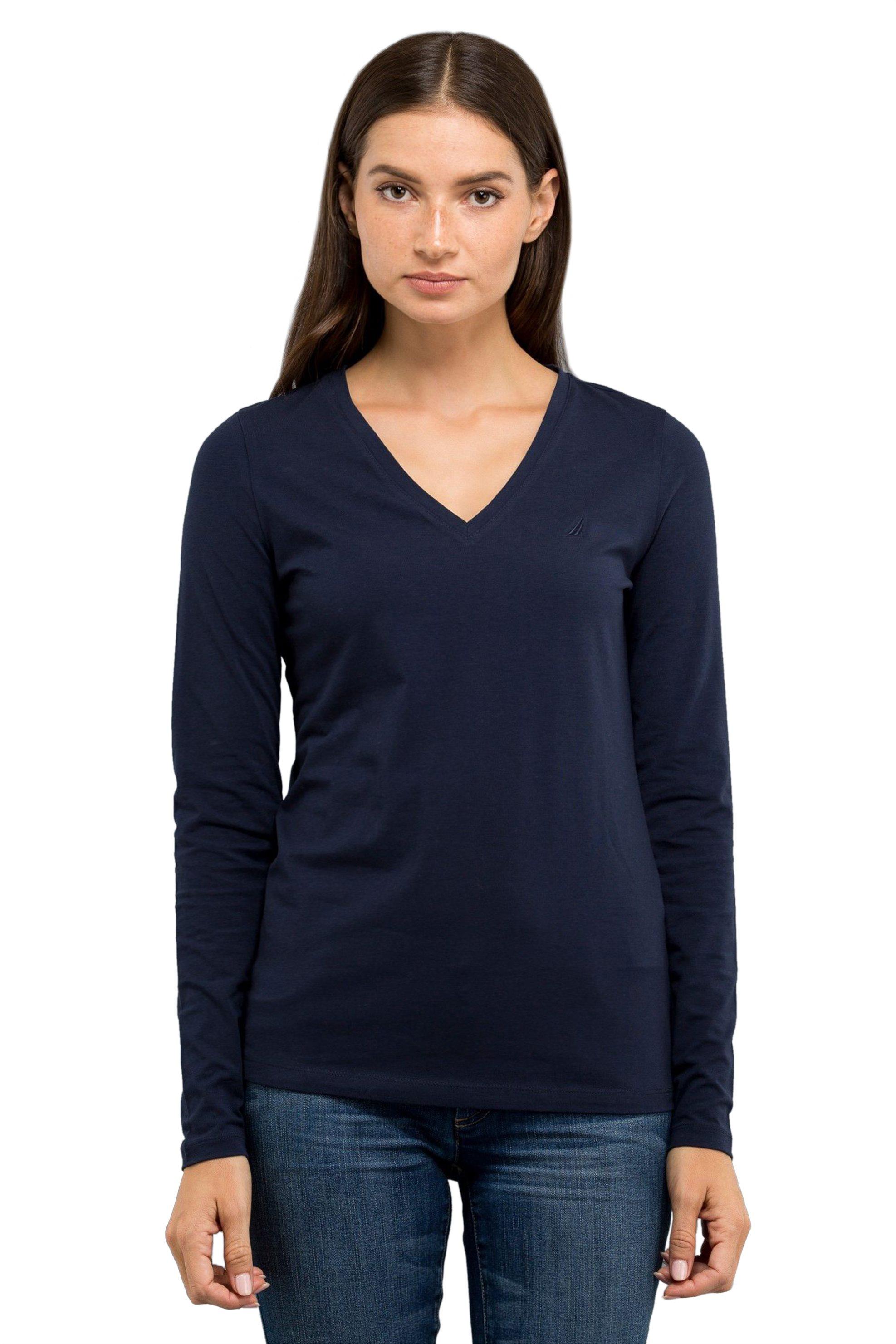 65aeec5769a0 Nautica Γυναικεία Basic Μπλούζα Με ...