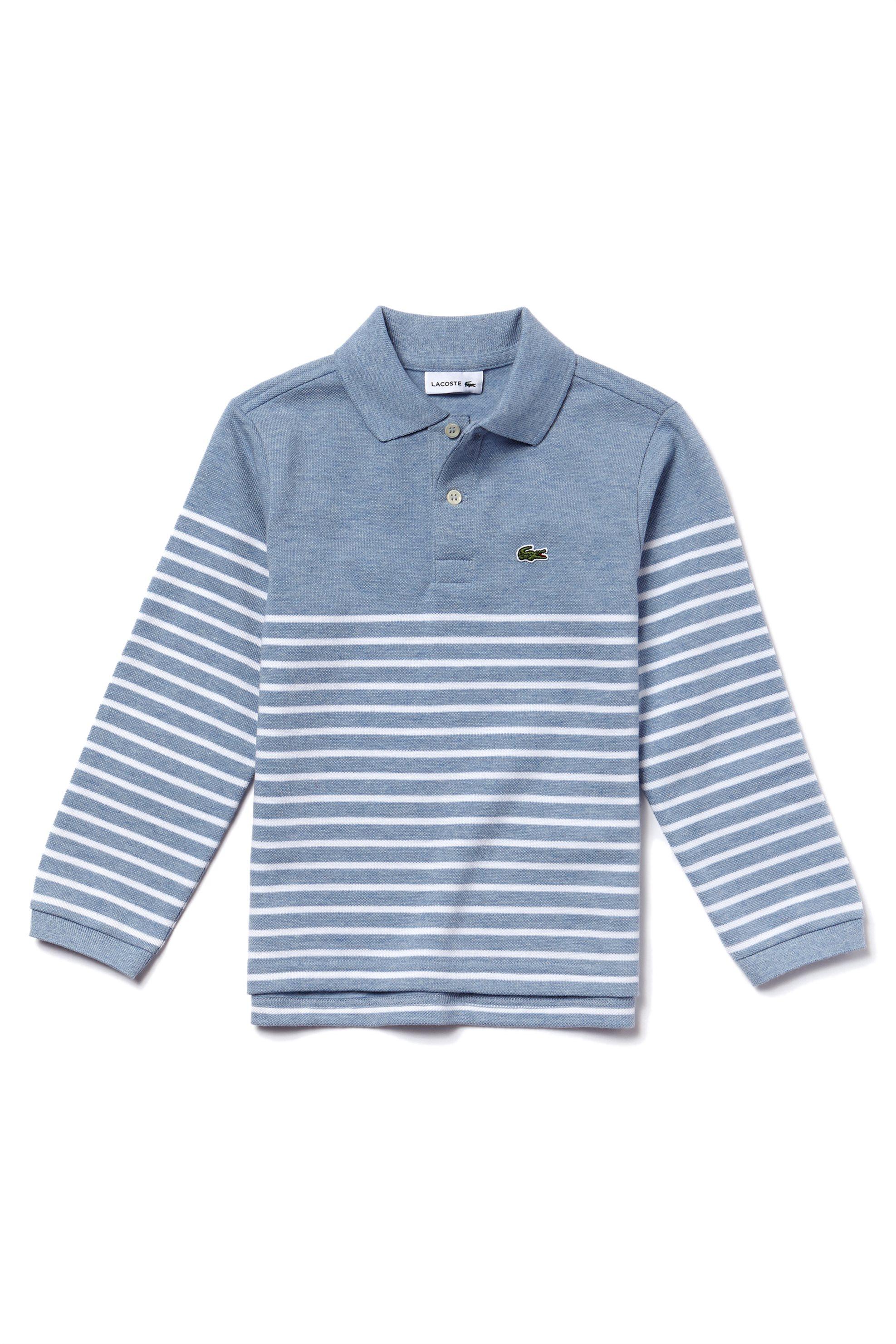 Notos Παιδική μπλούζα Lacoste - PJ8914 - Γαλάζιο 67970aaa24a