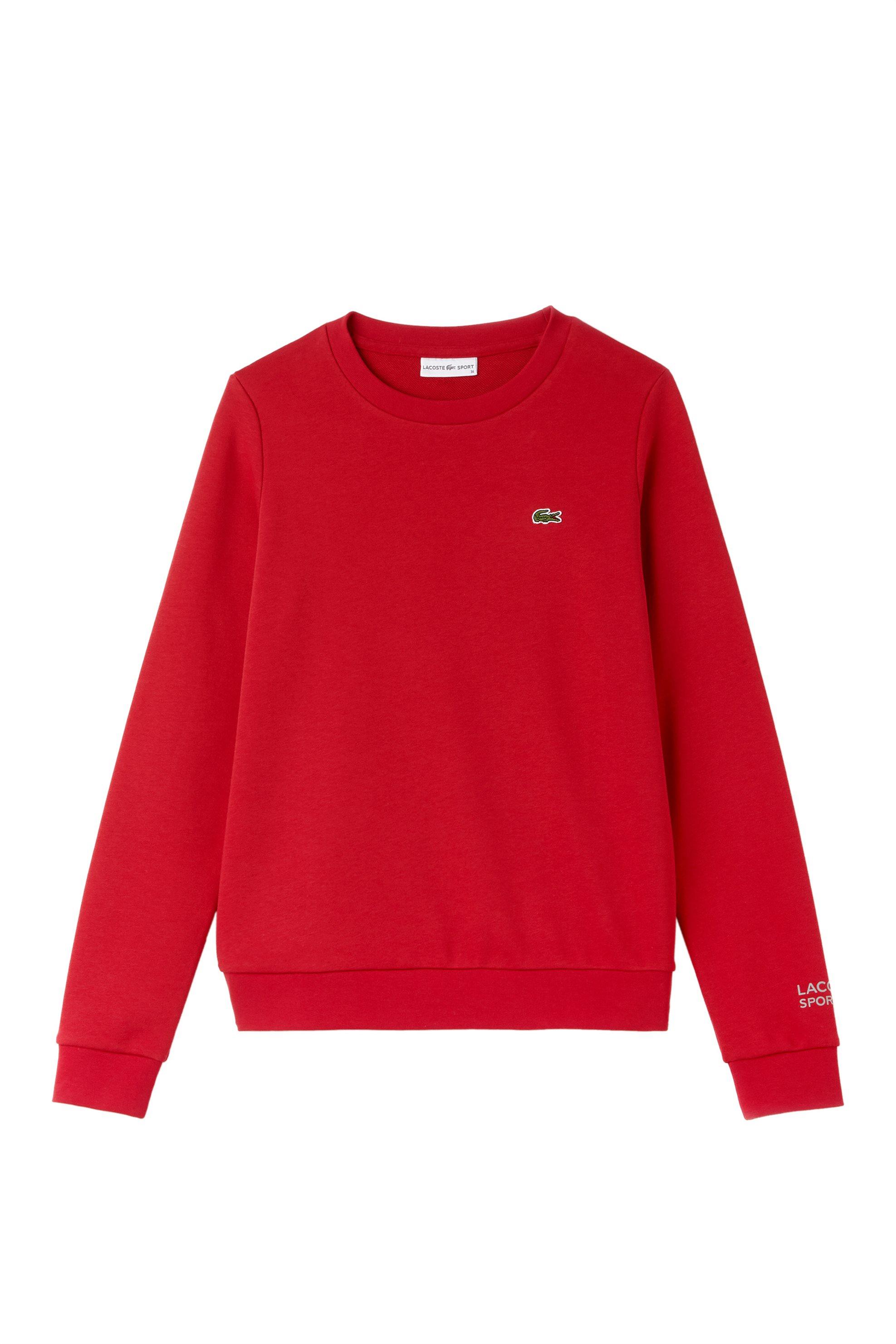 Lacoste ανδρικό φούτερ μονόχρωμο The Spring / Summer 2018 Tennis Collection - SF γυναικα   ρουχα   tops   φούτερ μπλούζες   ζακέτες