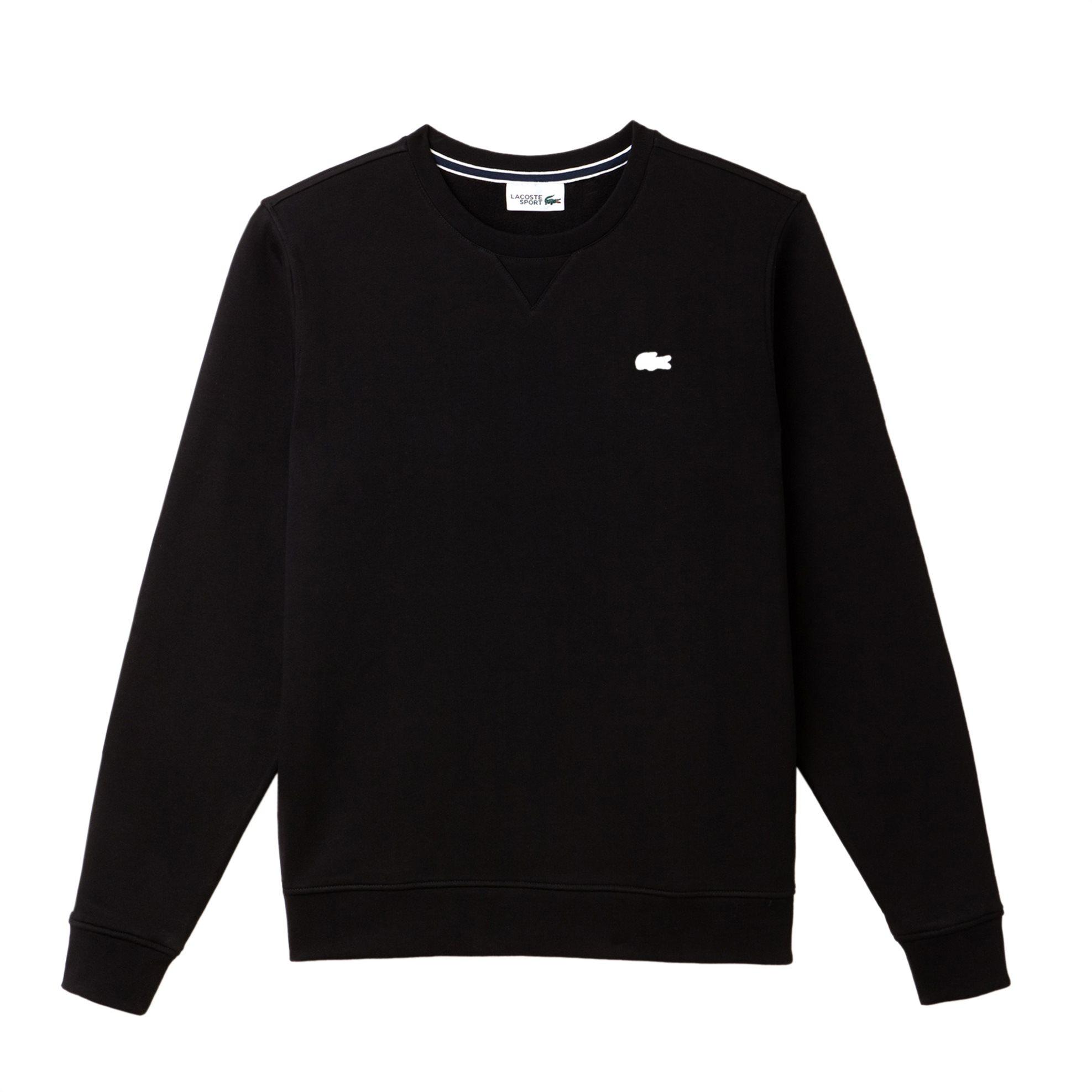 Lacoste ανδρική μπλούζα φούτερ μονόχρωμη The Spring / Summer 2018 Tennis Collect ανδρασ   ρουχα   μπλούζες   φούτερ   ζακέτες