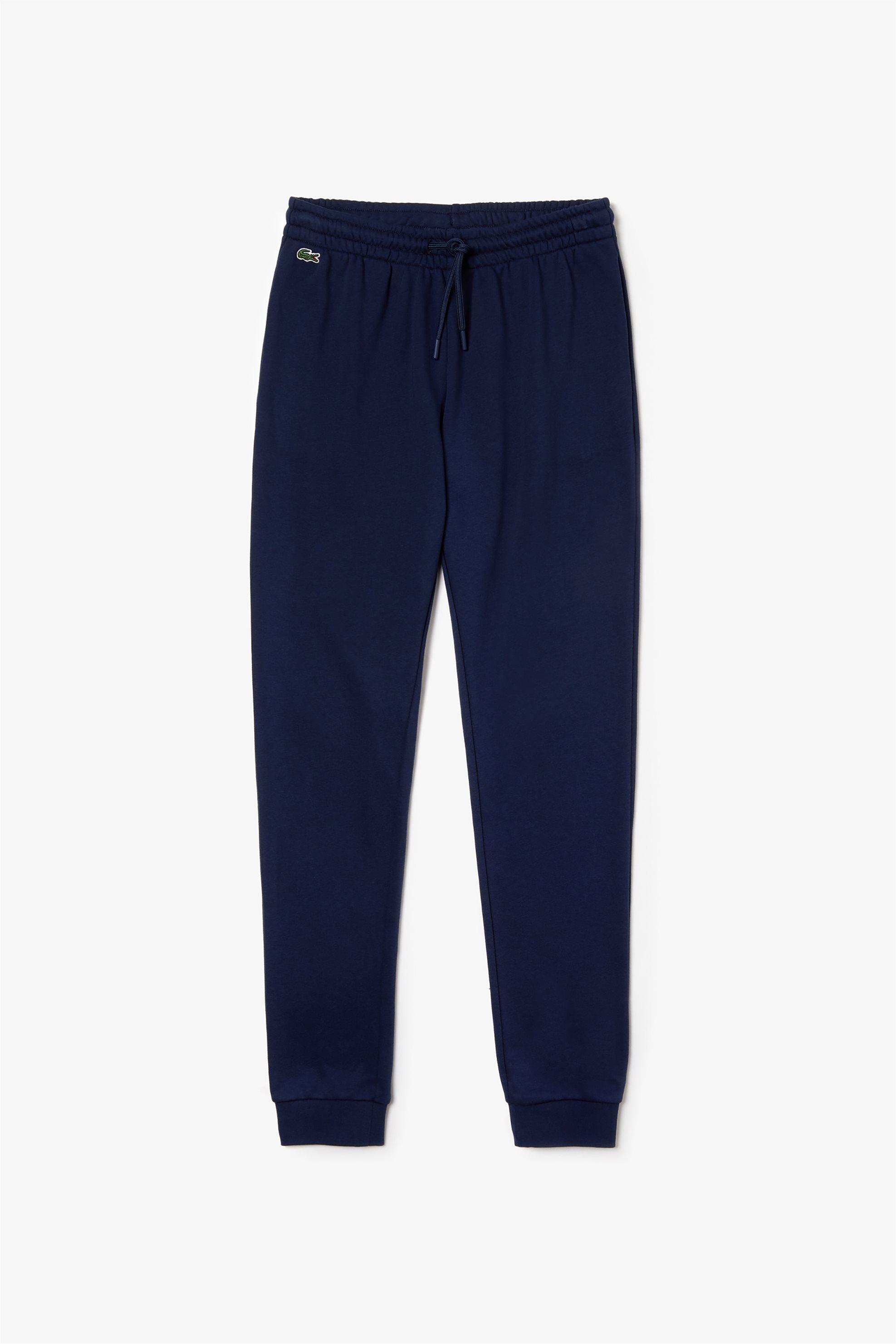 Lacoste γυναικείο παντελόνι φόρμα μονόχρωμο fleece The Spring/Summer 2019 Tennis γυναικα   ρουχα   αθλητικα   αθλητικά ρούχα   παντελόνια   ίσια γραμμή   παντελό