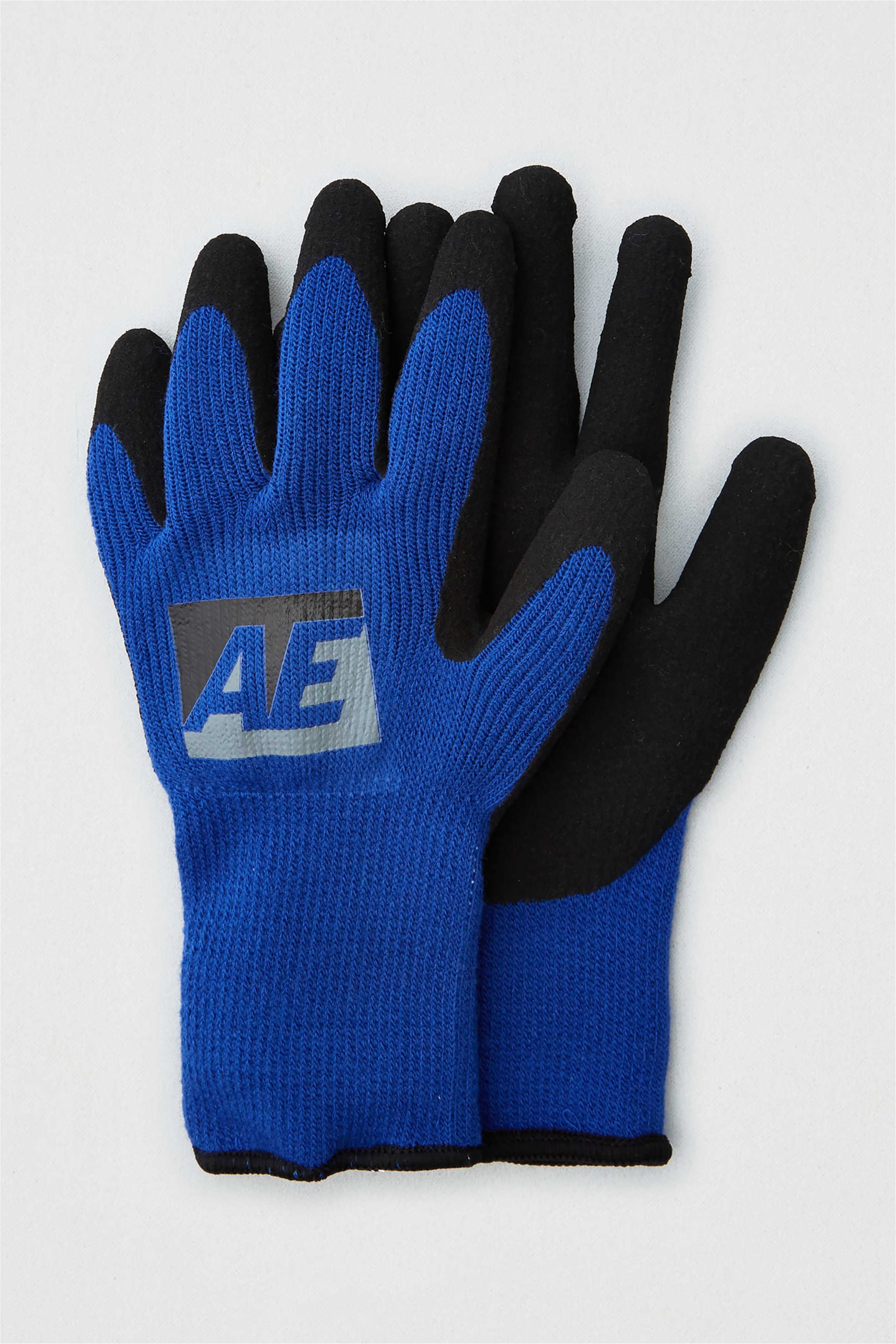 AEO Knitted Gloves - 0226-6363-400 - Μπλε