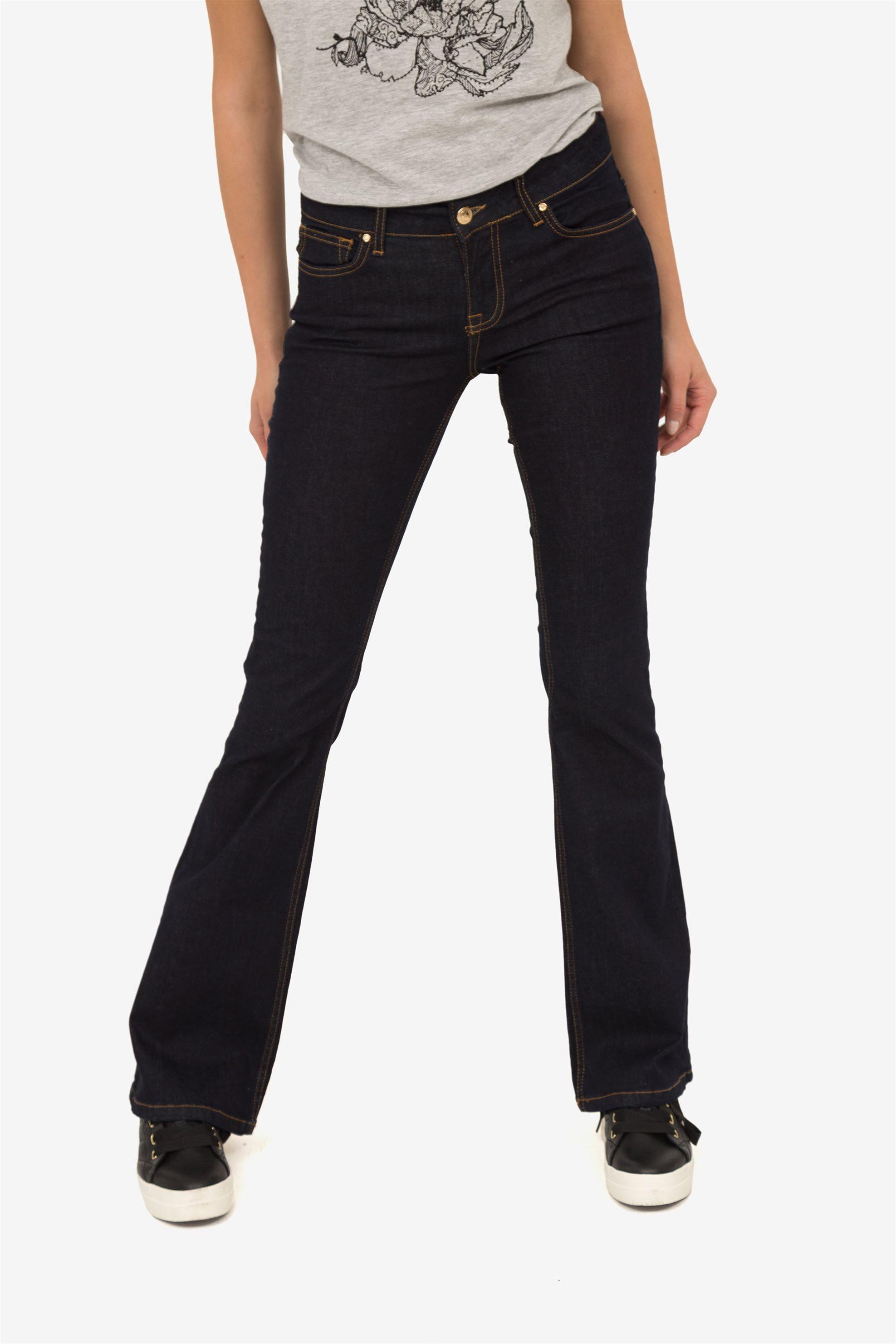 Sarah Lawrence γυναικείο τζην καμπάνα - 1-850054 - Μπλε Σκούρο γυναικα   ρουχα   jeans   καμπάνα   bootcut