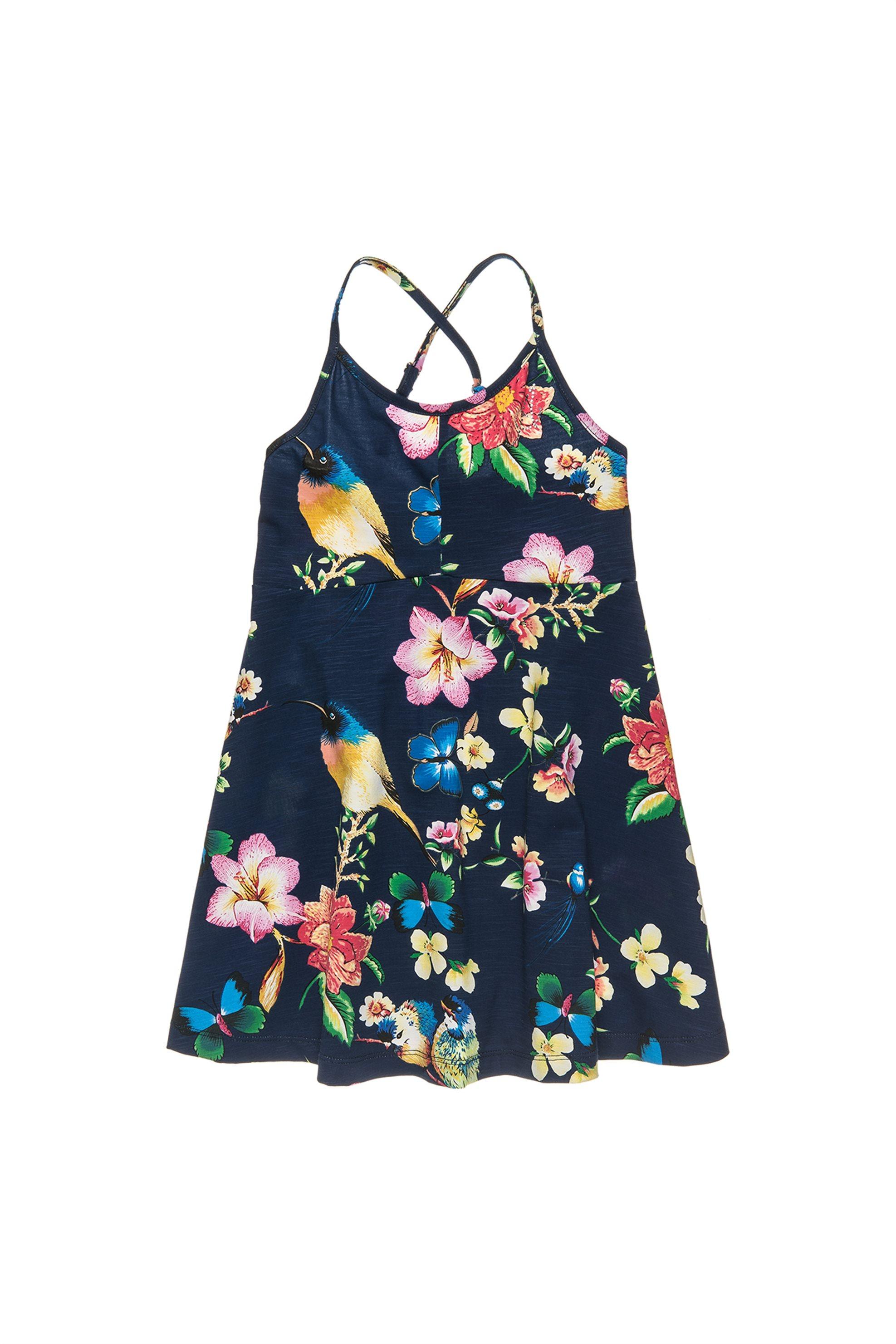 Παιδικό φόρεμα με χιαστί ραντάκια Alouette - 00941645 - Πολύχρωμο παιδι   βρεφικα κοριτσι   0 3 ετων   βρεφικα αγορι   0 3 ετων   ρούχα   φορέματα