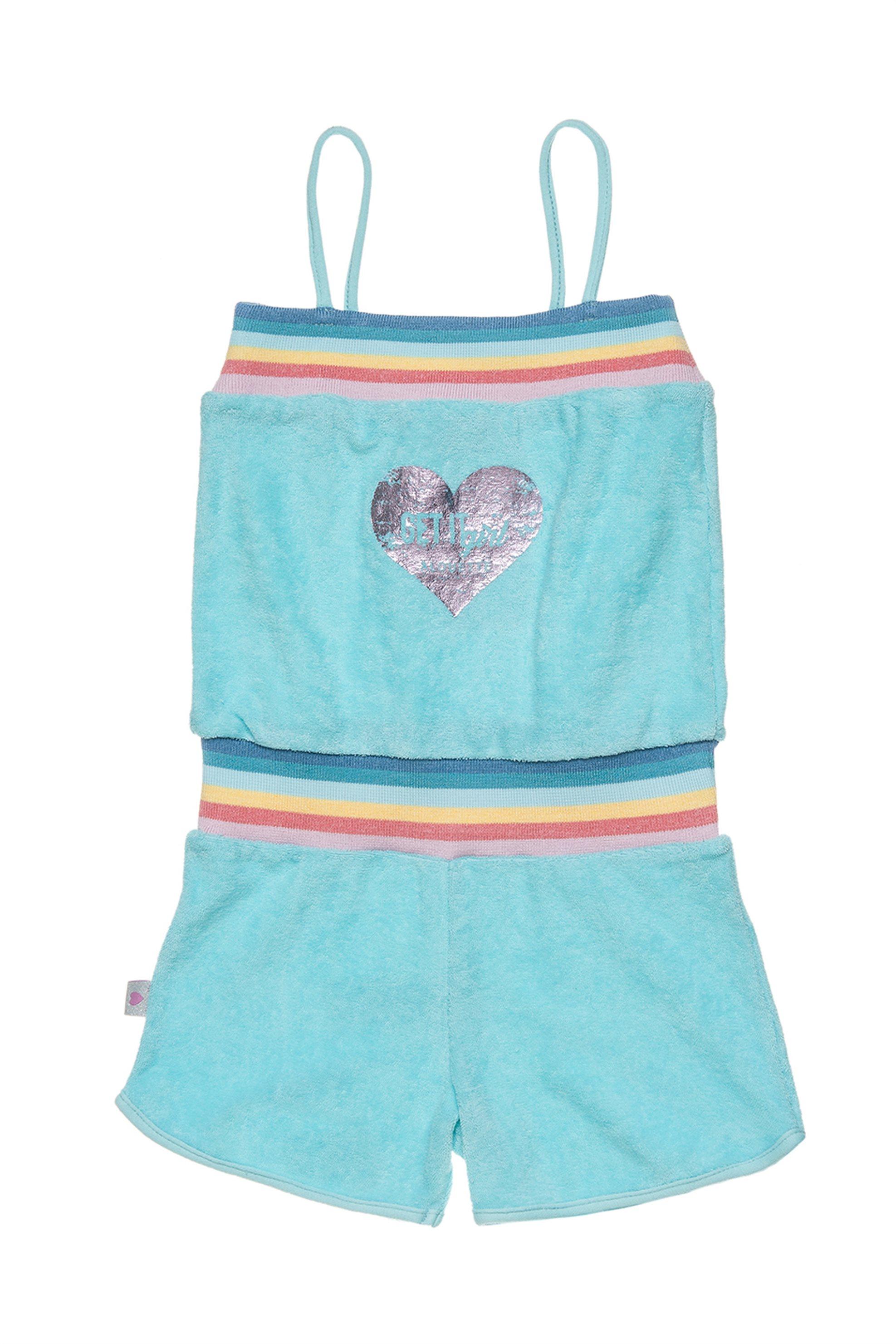 Παιδική σαλοπέτα με print καρδιά Alouette - 00912791 - Βεραμάν παιδι   κοριτσι   4 14 ετων   tops   παντελόνια   σαλοπέτες