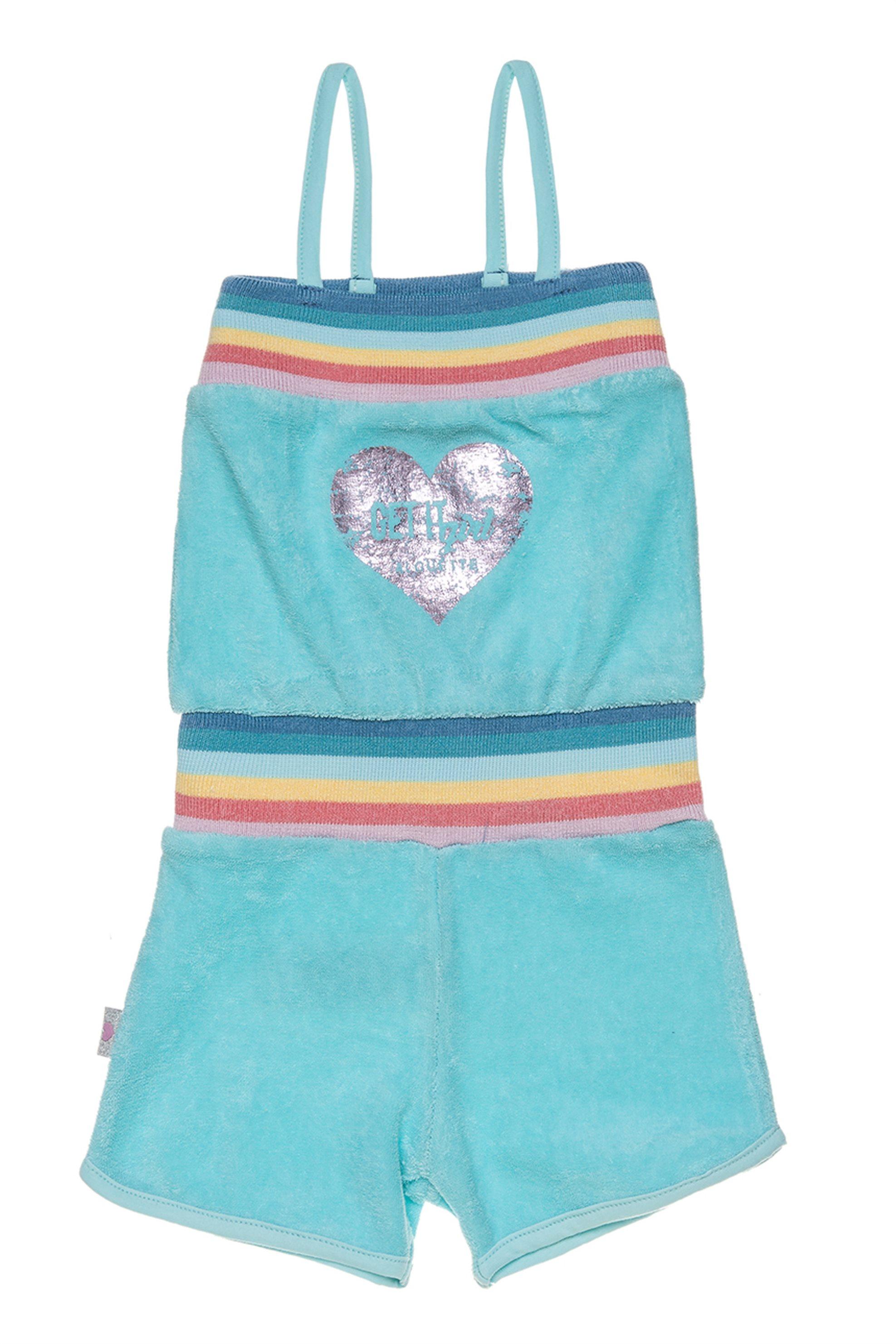 Βρεφική σαλοπέτα με ραντάκι Alouette - 00211805 - Βεραμάν παιδι   βρεφικα κοριτσι   0 3 ετων   ρούχα   σαλοπέτες