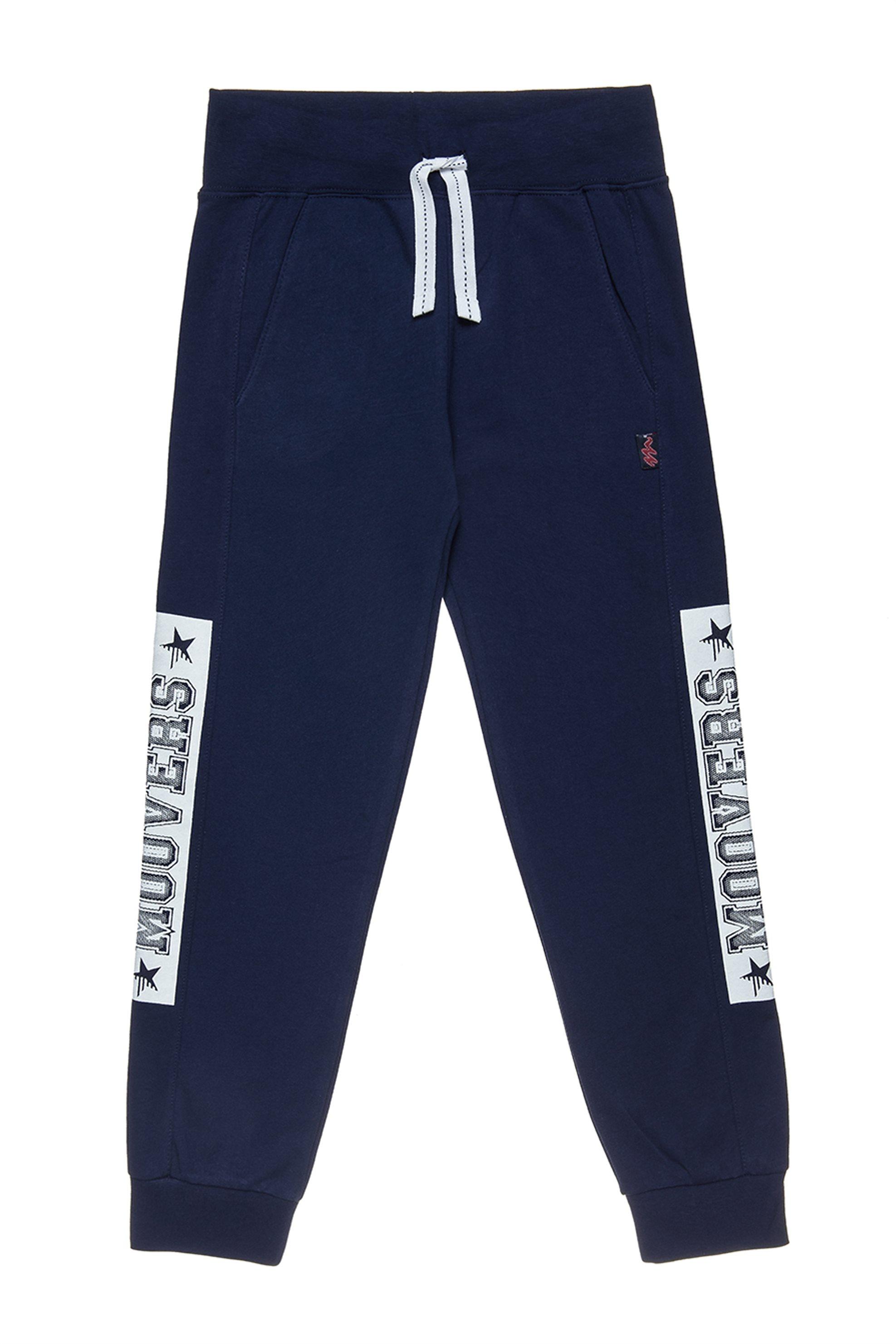 Αlouette παιδικό παντελόνι φόρμας slim fit Moovers με τύπωμα και κορδόνι - 00912 παιδι   αγορι   4 14 ετων   μπλουζάκια   παντελόνια   παντελόνια   φόρμες