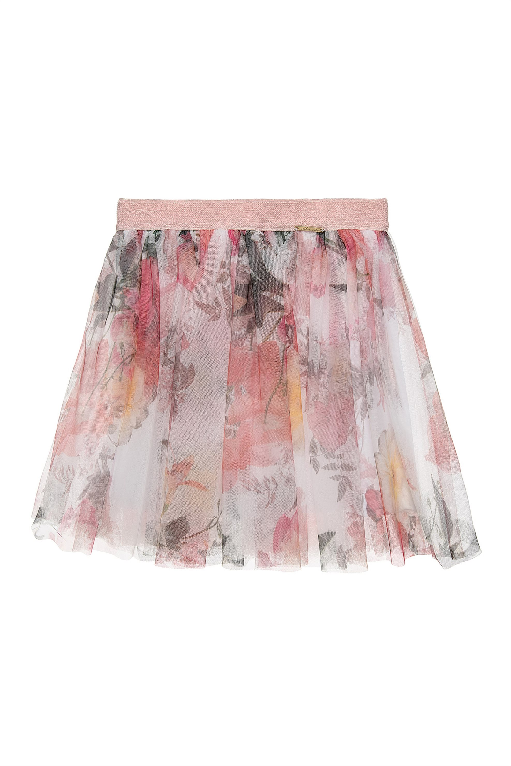 Alouette παιδική φούστα με τούλι floral (6-10 ετών) - 009418...
