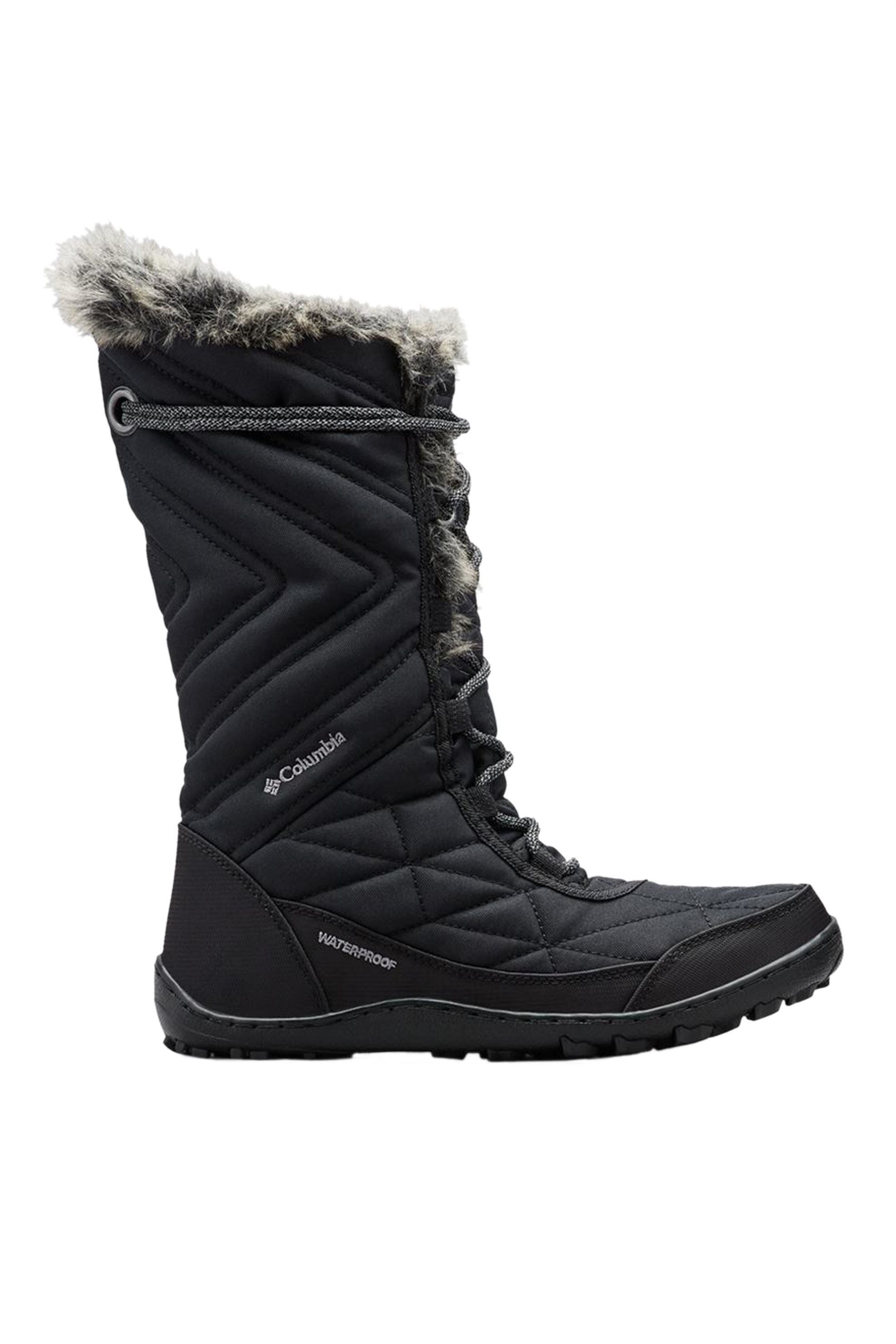 Columbia γυναικείες καπιτονέ μπότες με faux γούνα ''Minx™ Mid III'' - BL59640108+ - Μαύρο