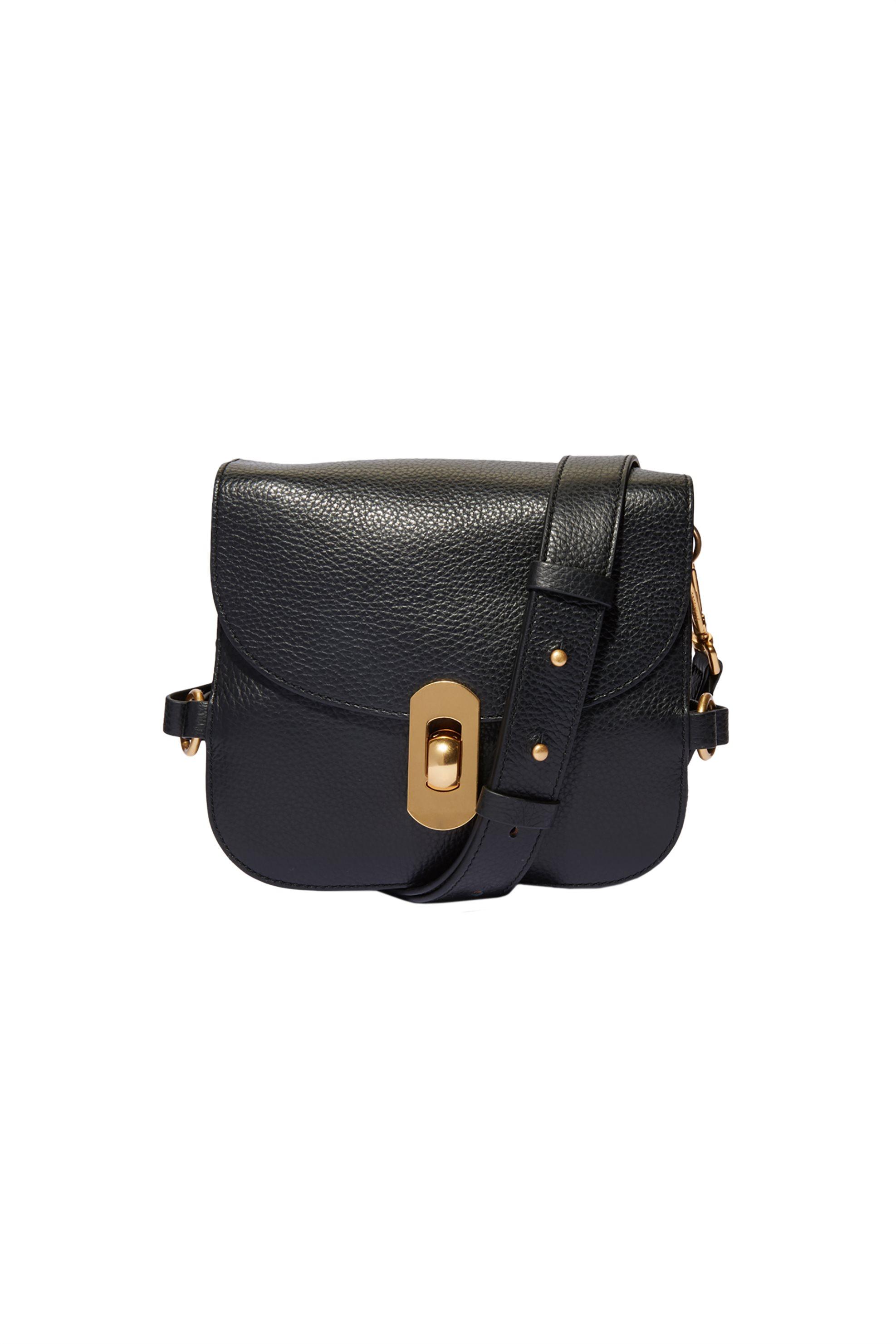 a56388dd8f Coccinelle γυναικεία τσάντα crossbody Zaniah Mini - E1DG0-550101 - Μαύρο