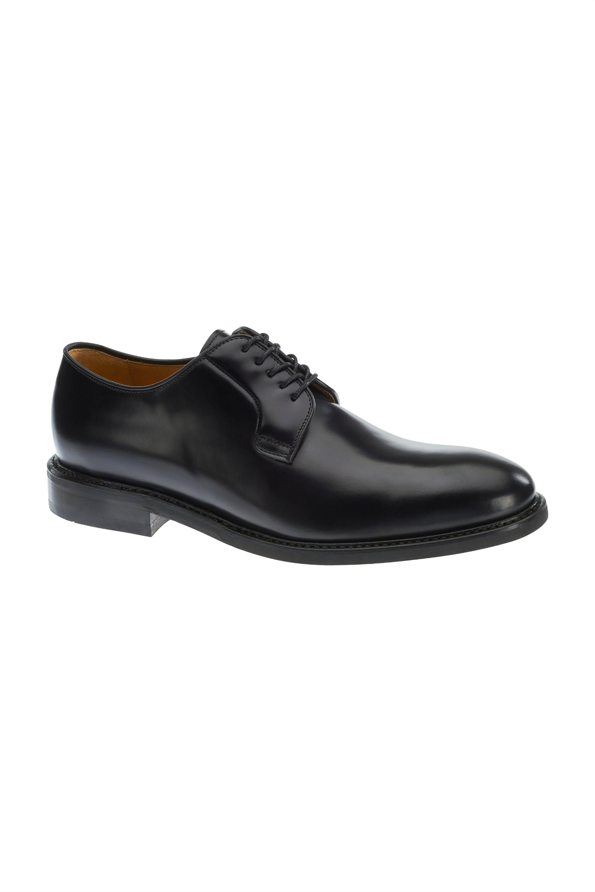 Notos Sebago ανδρικά παπούτσια δερμάτινα με κορδόνια Cordoba – B220025 –  Μαύρο 7d22aac1fa1