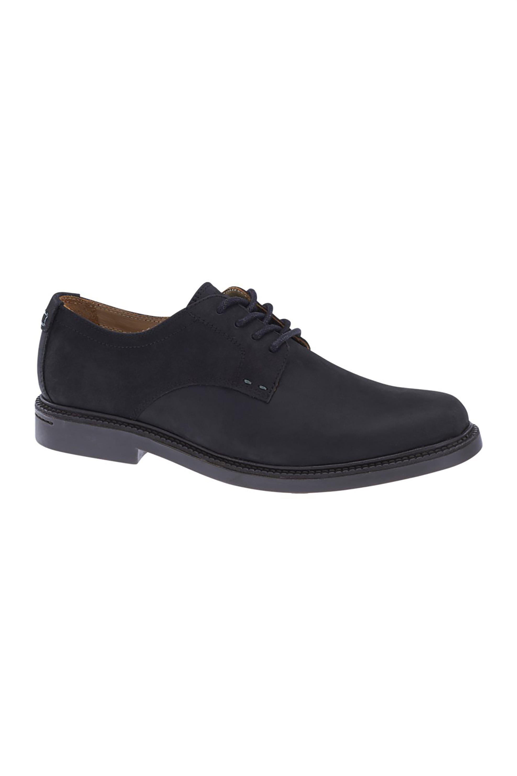 Notos Sebago ανδρικά παπούτσια δερμάτινα Turner Lace Up – B810260 – Μαύρο 76e3fd6bc9d